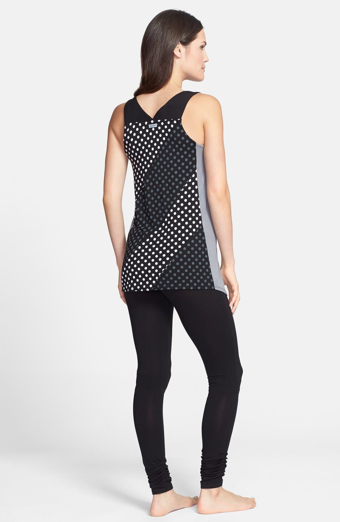 Alternate Image 4  - DKNY 'Graphic Avenue' Racerback Tank