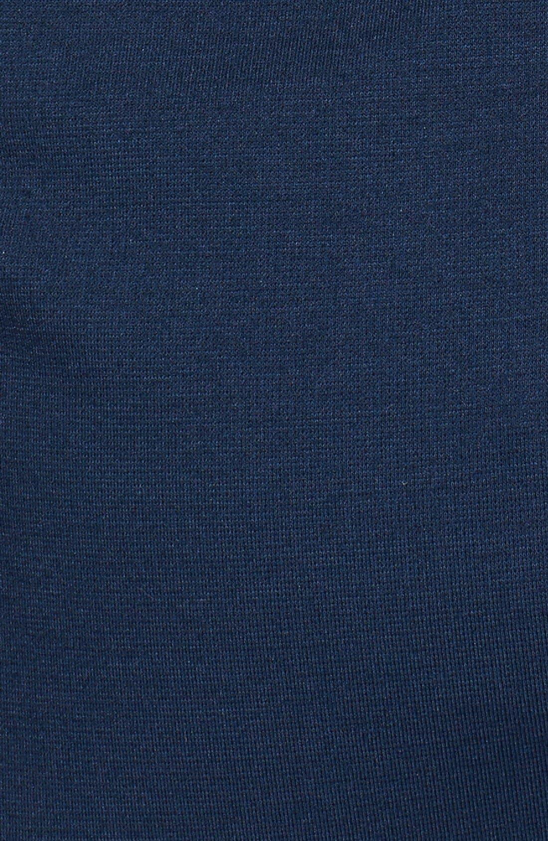 Alternate Image 3  - Jay Godfrey 'Vaughn' Faux Leather &  Ponte Knit Dress