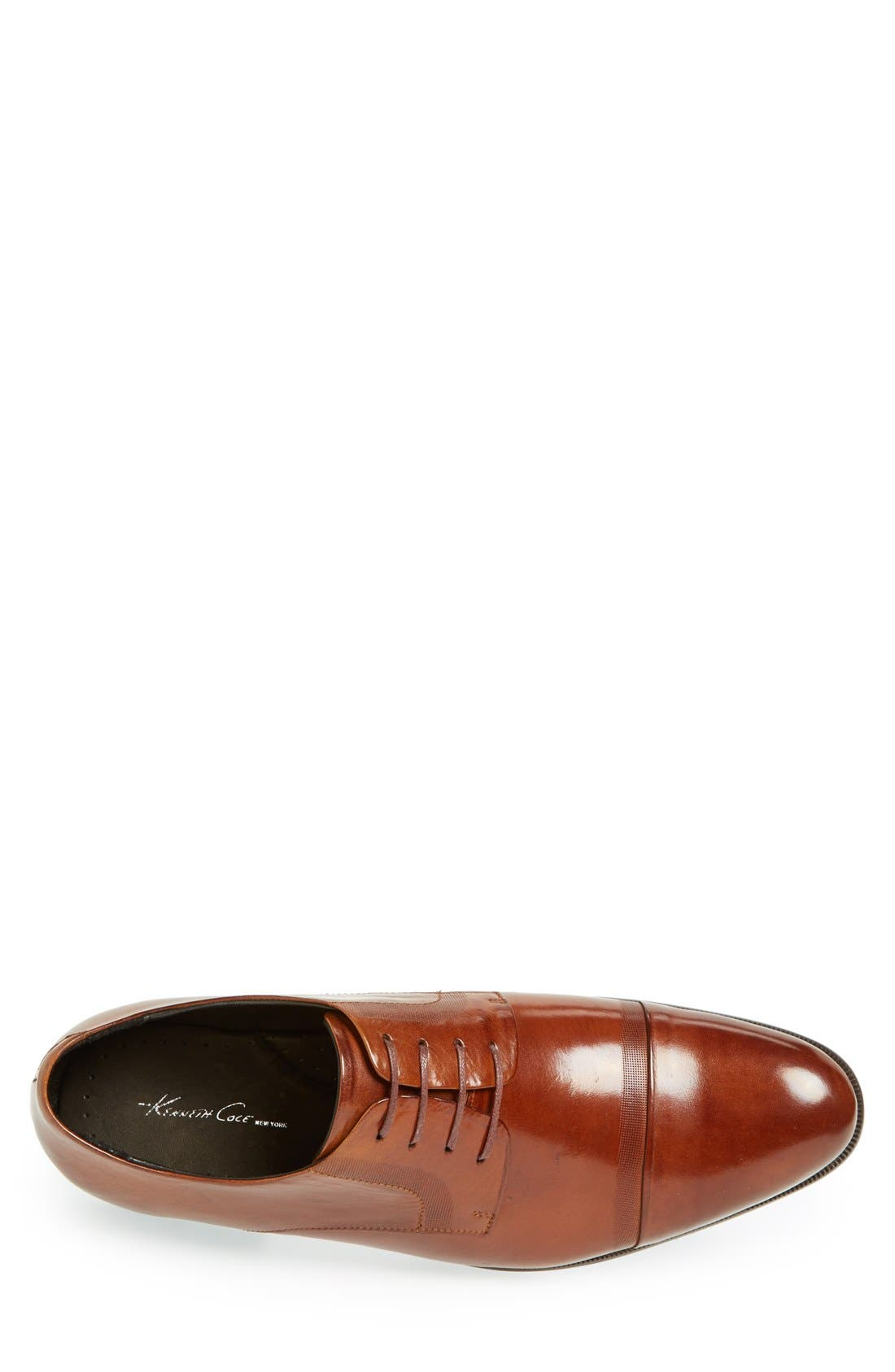 Alternate Image 3  - Kenneth Cole New York 'Chief Of Staff' Cap Toe Derby (Men)