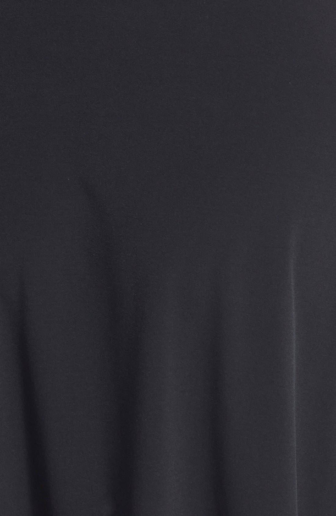 Alternate Image 3  - MICHAEL Michael Kors Cap Sleeve Belted Fit & Flare Dress (Plus Size)