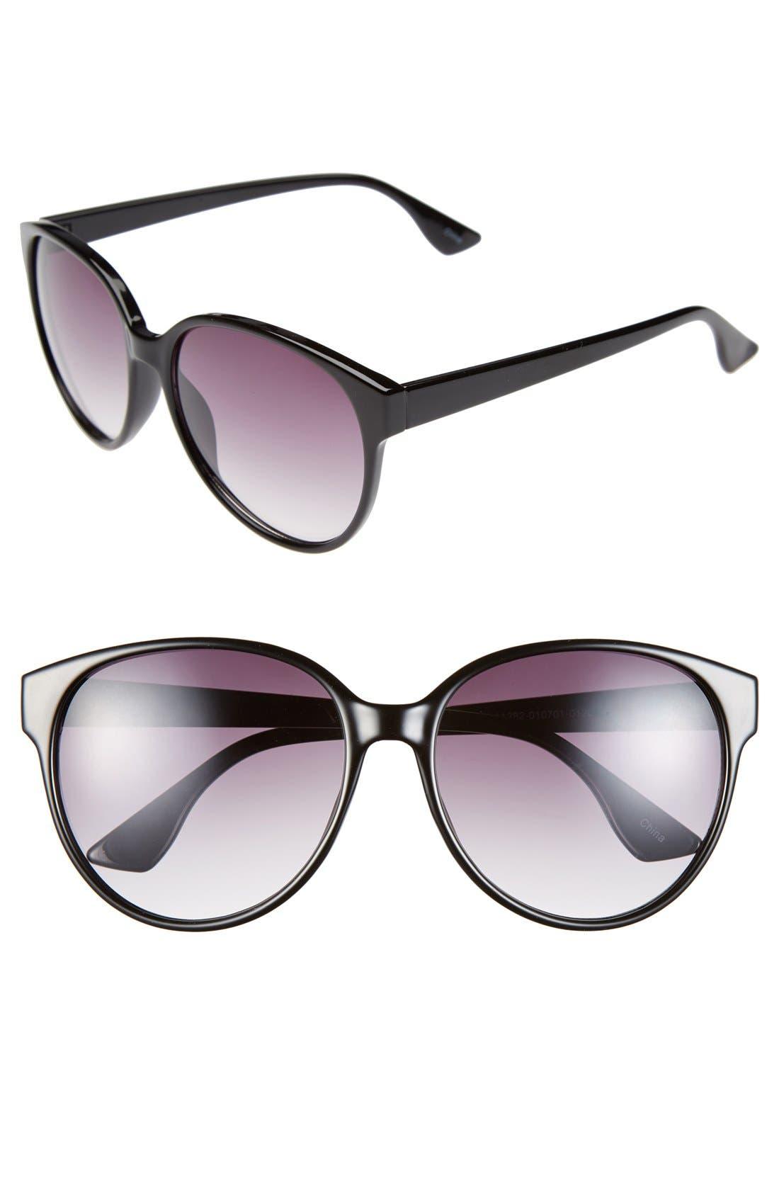 Alternate Image 1 Selected - BP. 57mm Cat Eye Sunglasses
