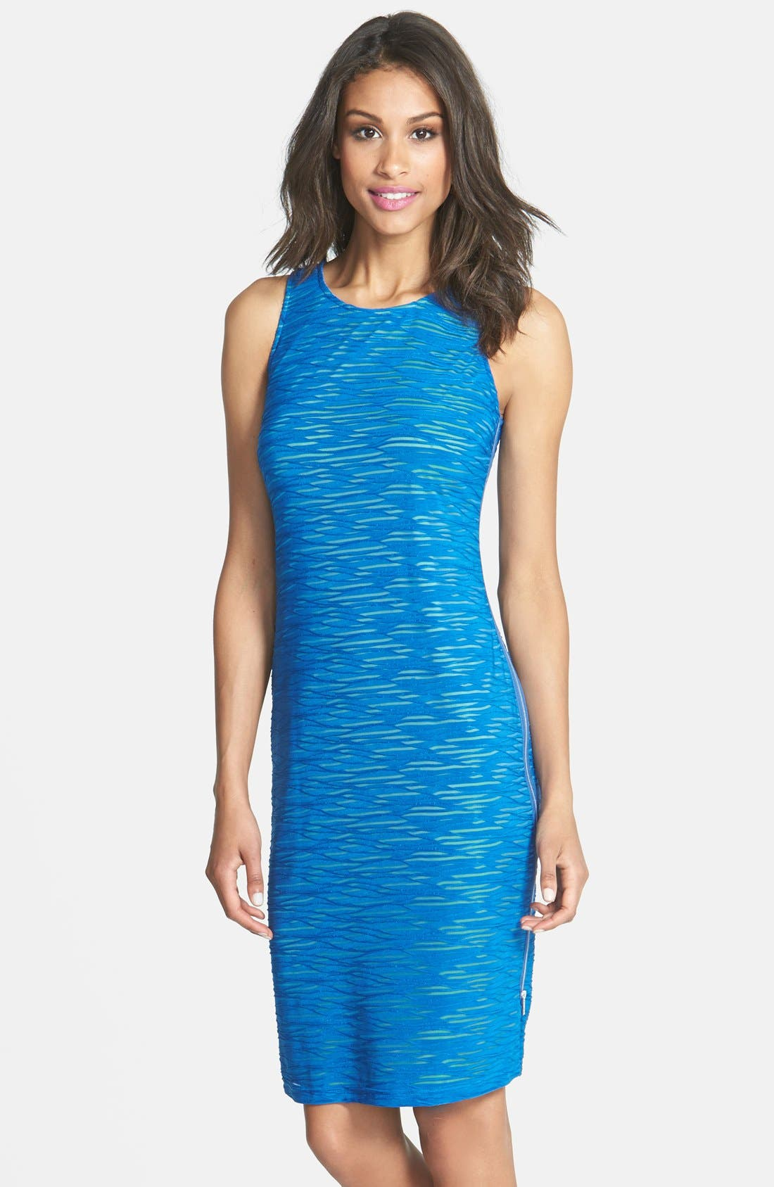 Main Image - Marc New York by Andrew Marc Textured Knit Sheath Dress
