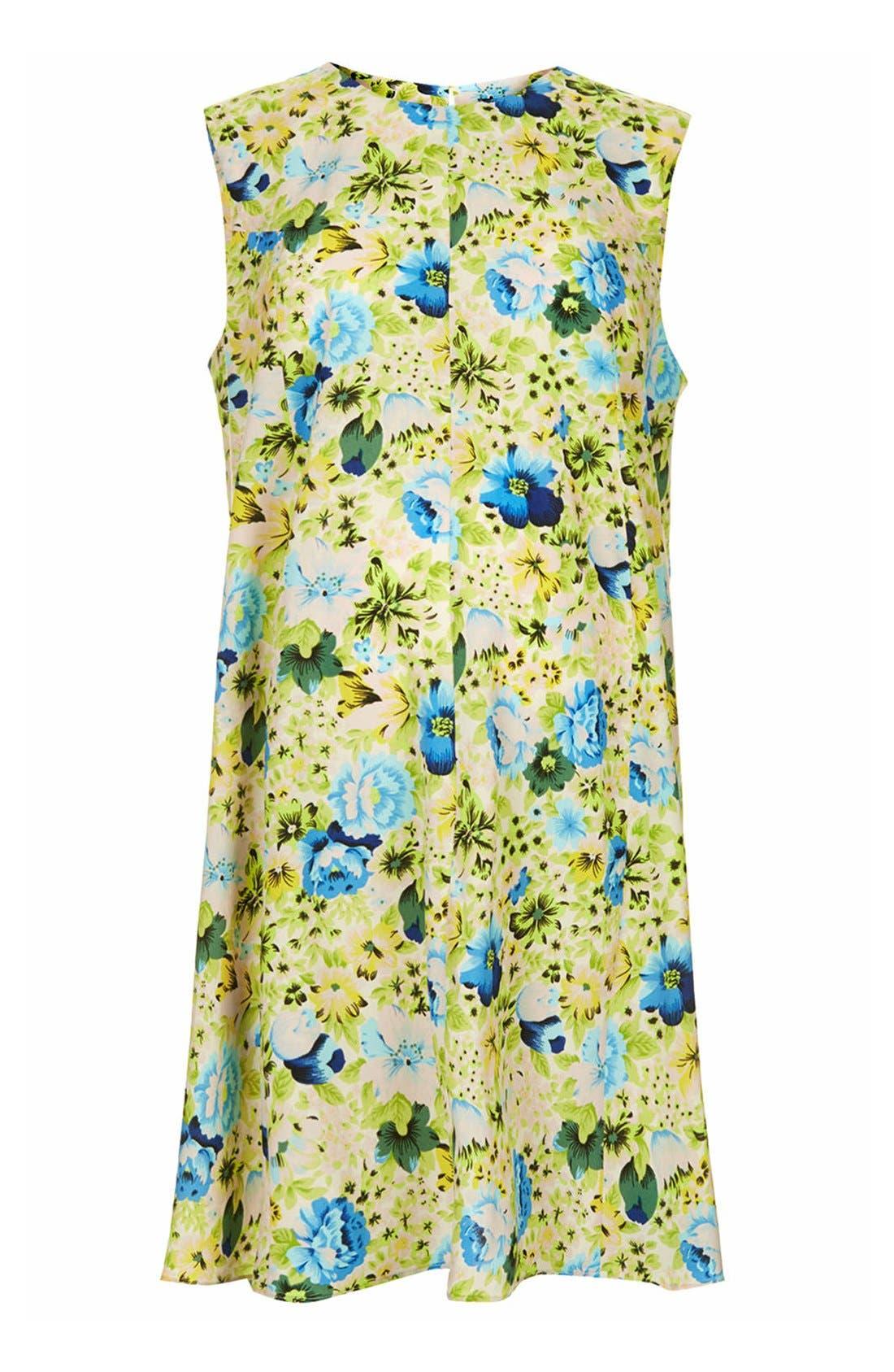 Main Image - Topshop Floral Print Maternity Swing Dress