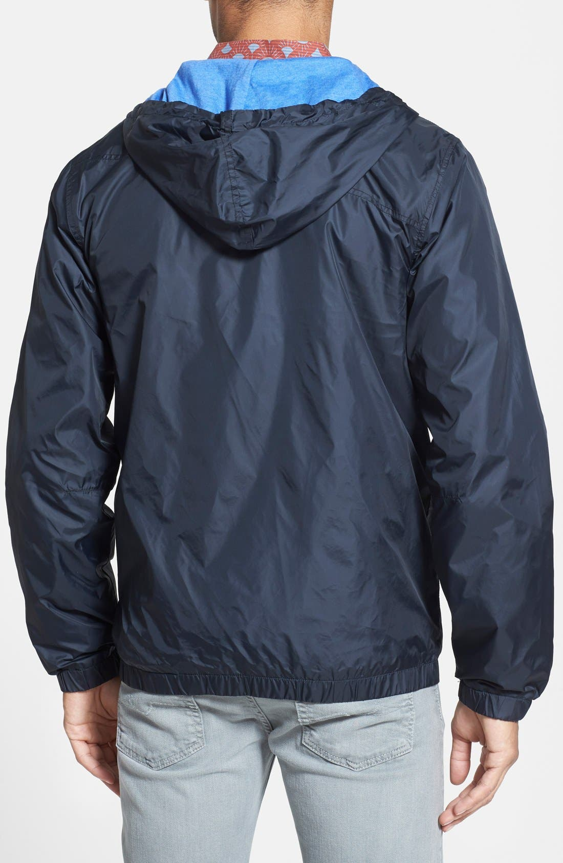 Alternate Image 2  - Volcom 'Watch Out' Wax Coated Windbreaker