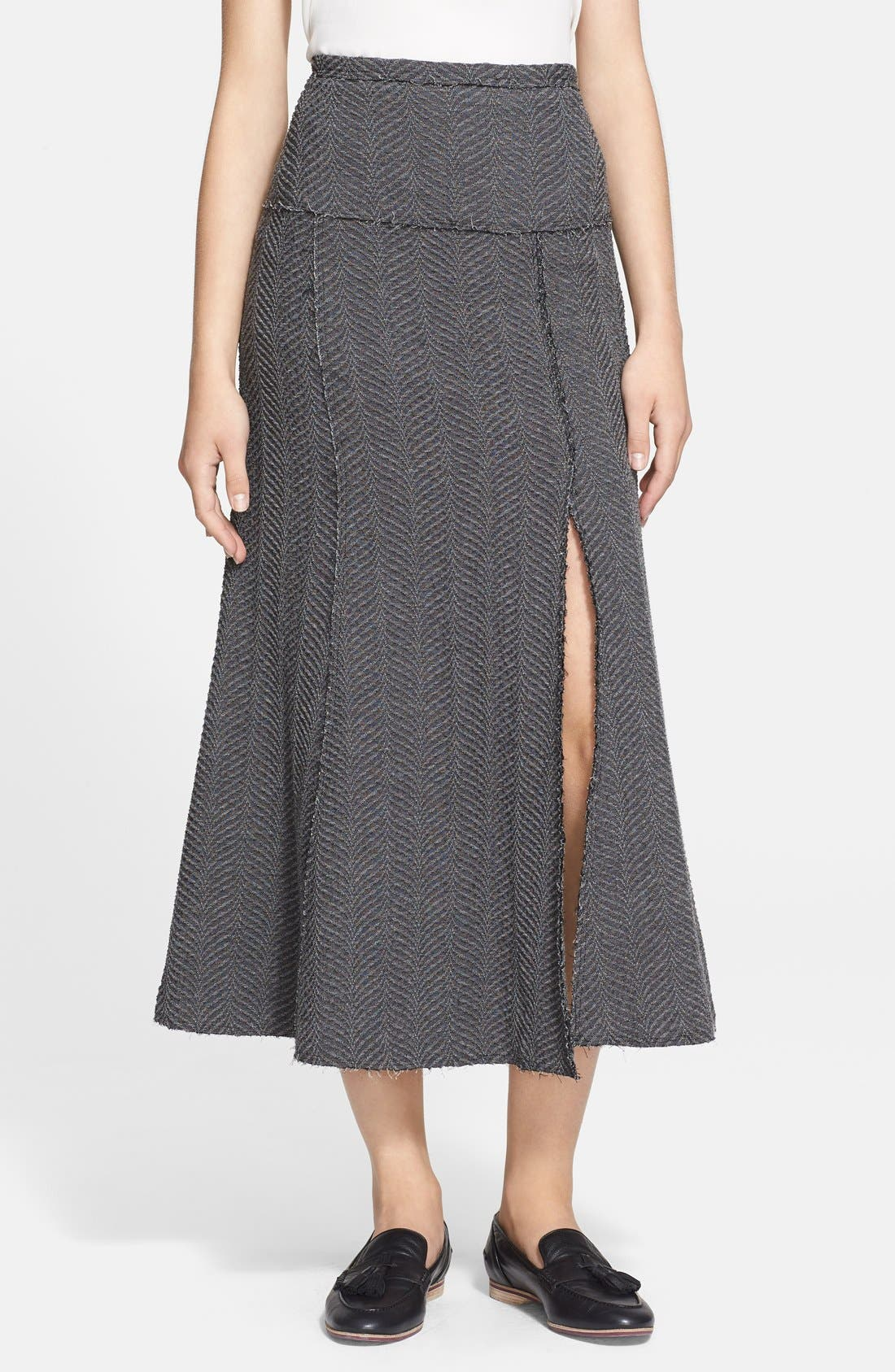 Alternate Image 1 Selected - Tracy Reese Mélange Midi Skirt