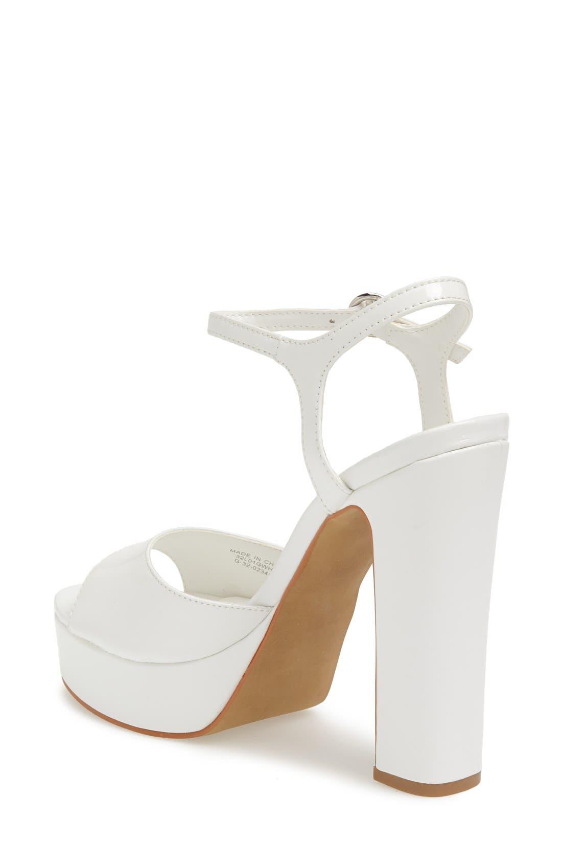 Alternate Image 2  - Topshop 'Luther' Platform Sandal (Women)