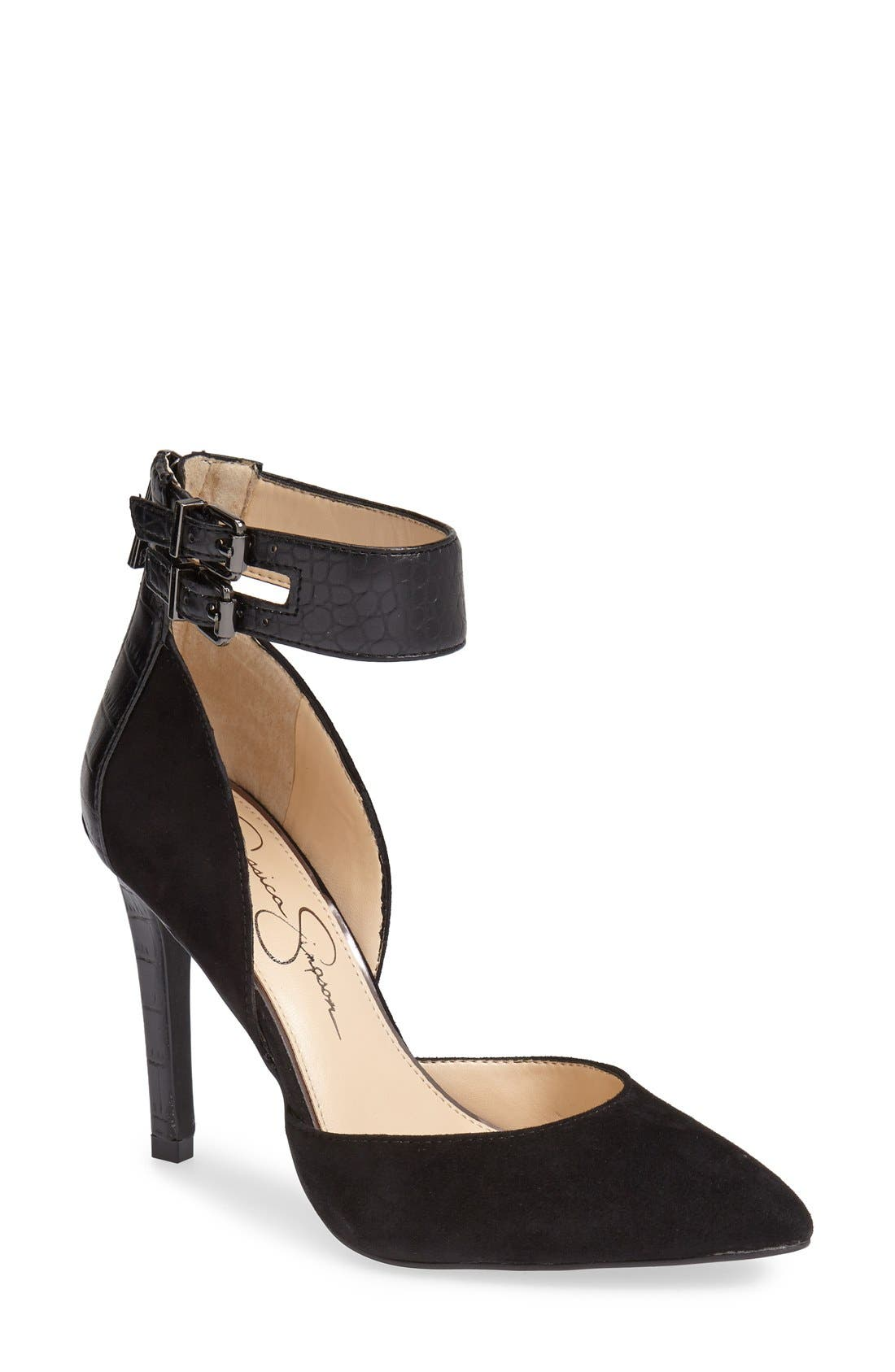 Alternate Image 1 Selected - Jessica Simpson 'Veday' d'Orsay Pump (Women)