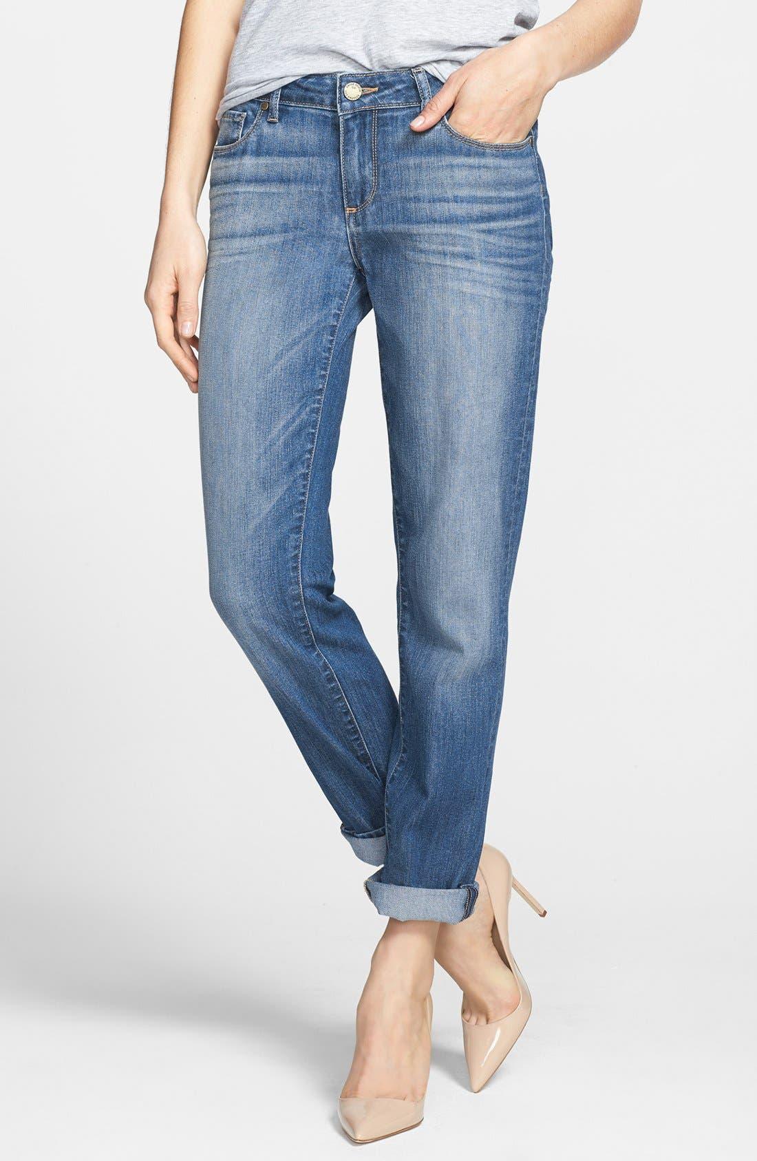 Alternate Image 1 Selected - Paige Denim 'Jimmy Jimmy' Skinny Boyfriend Jeans (Aero)