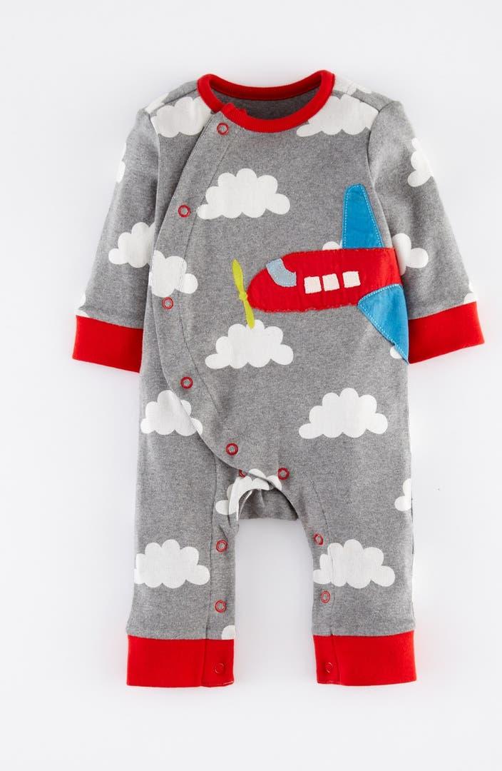 Mini boden appliqu romper baby boys nordstrom for Boden jumpsuit