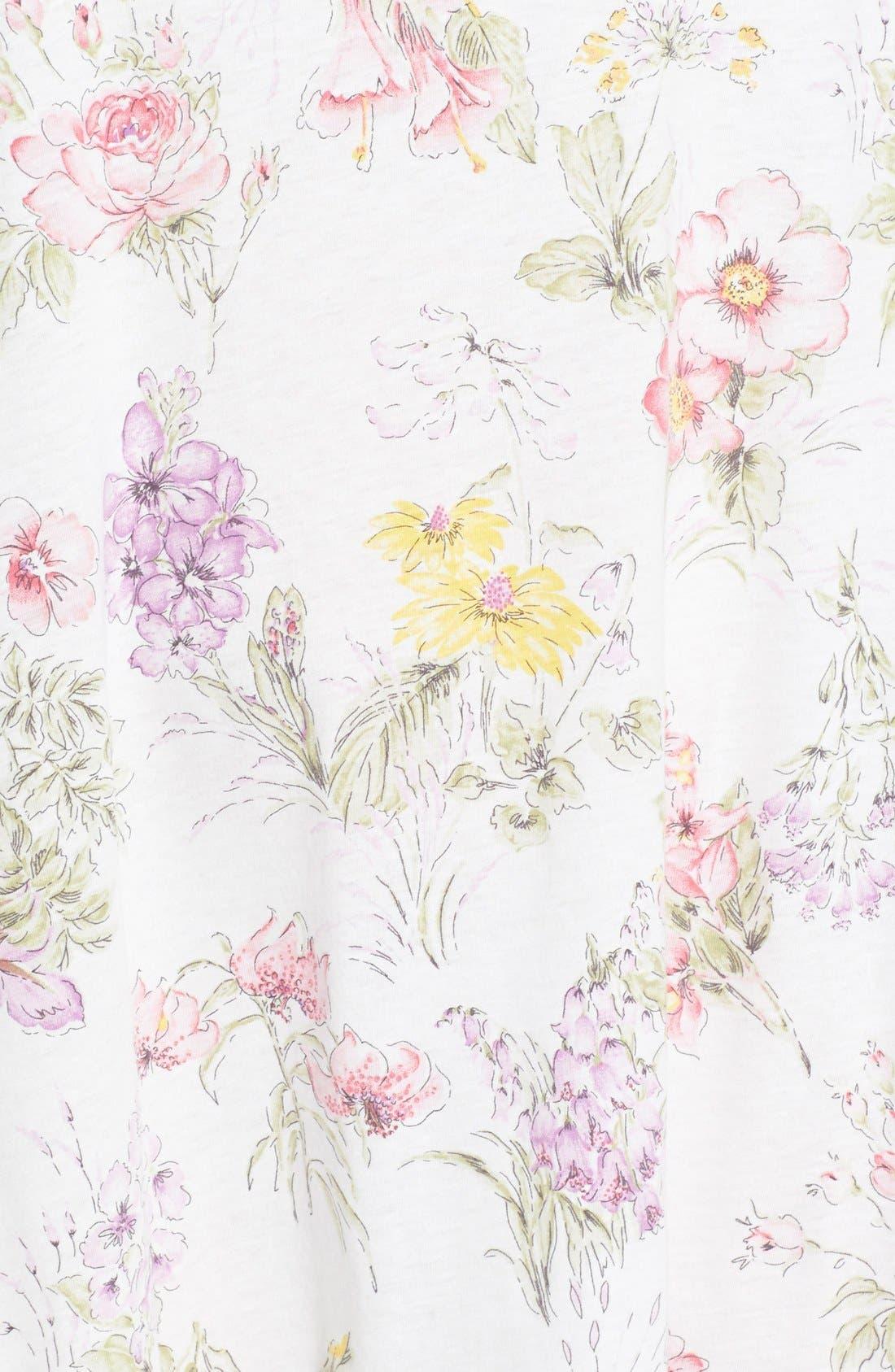 Alternate Image 3  - Carole Hochman Designs 'Country Garden' Sleep Shirt (Plus Size)