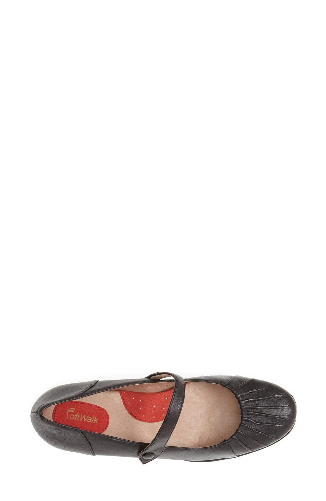 Alternate Image 3  - SoftWalk® 'Ireland' Leather Mary Jane Pump (Women)