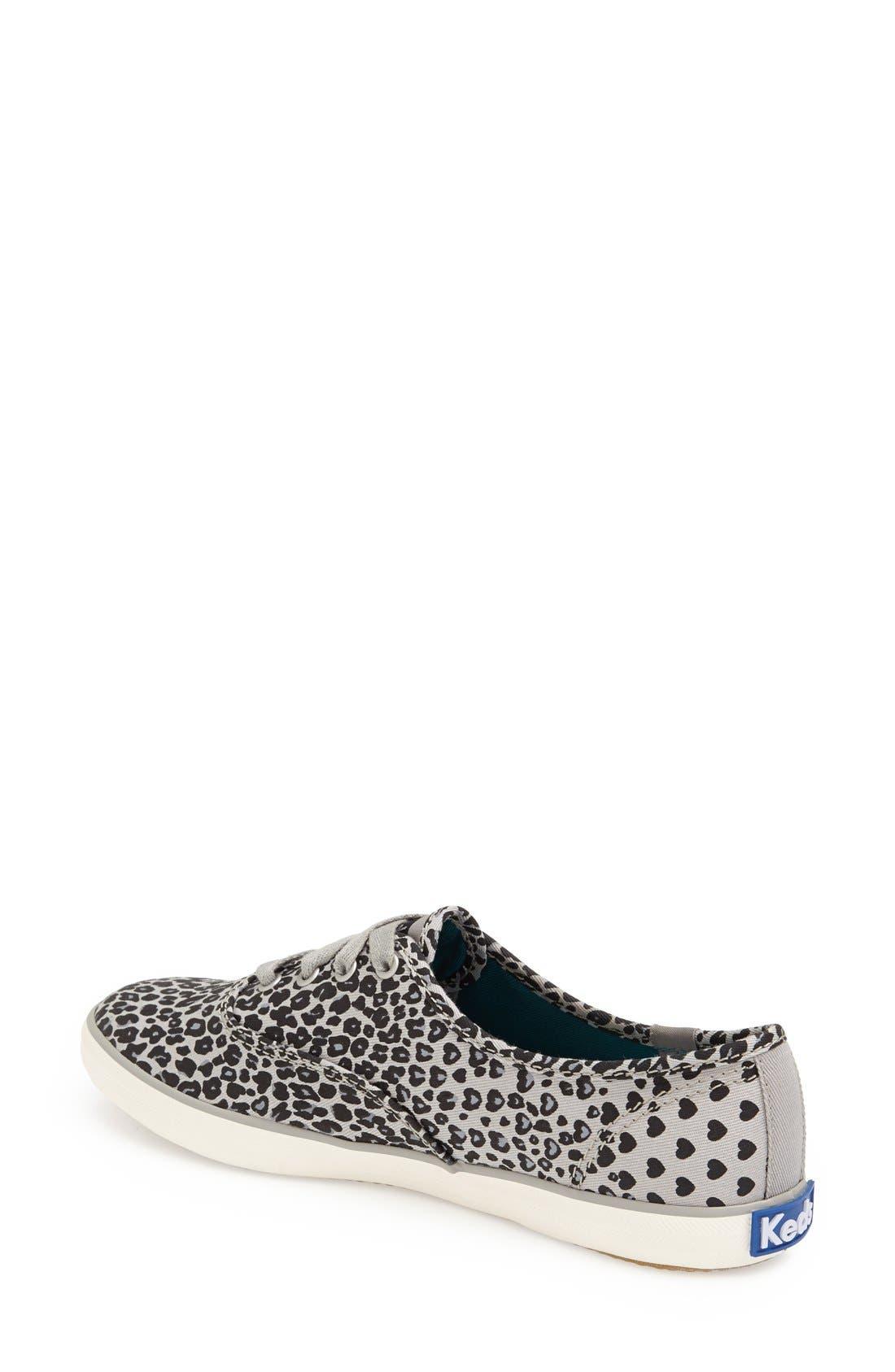 Alternate Image 2  - Keds® 'Champion - Leopard' Sneaker (Women)