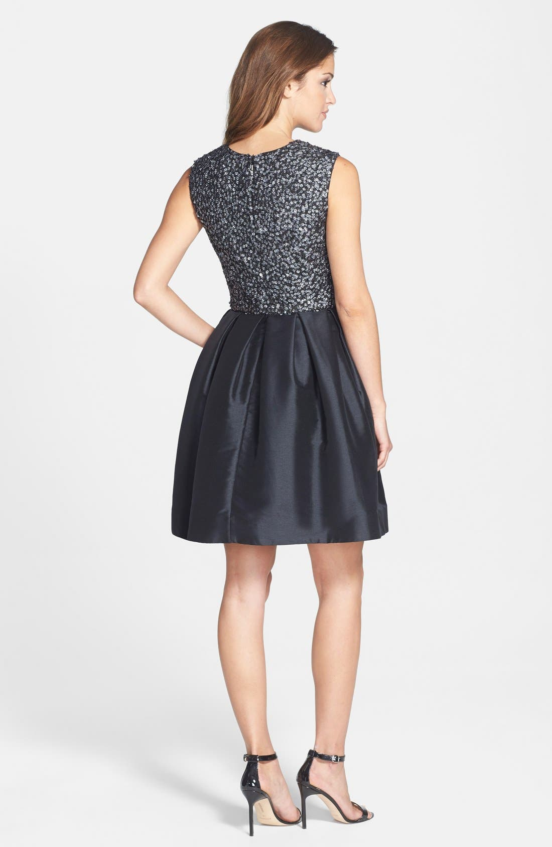 Alternate Image 2  - ML Monique Lhuillier Embellished Fit & Flare Dress
