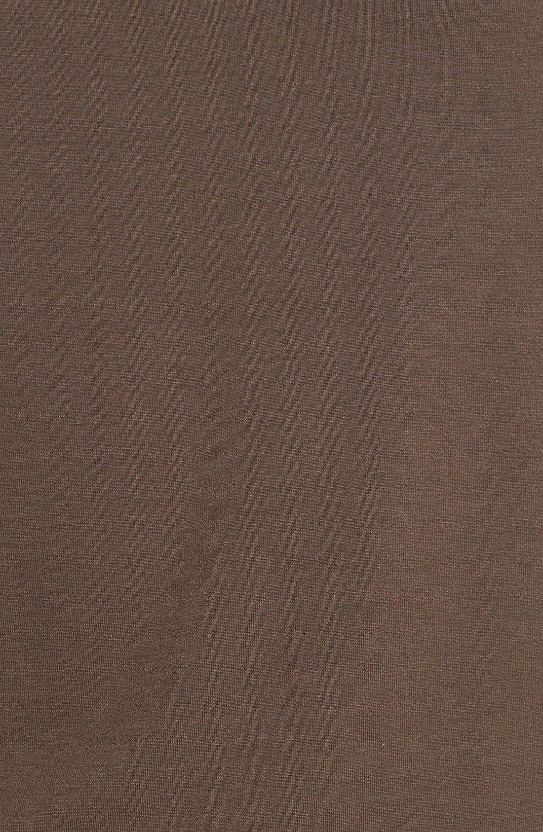 Alternate Image 3  - Eileen Fisher Bateau Neck Slim Jersey Top (Regular & Petite)