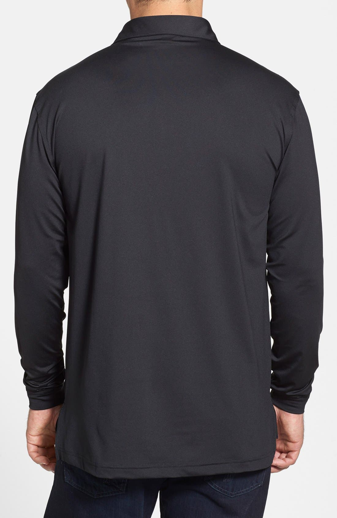 Alternate Image 2  - Peter Millar Moisture Wicking Stretch Long Sleeve Polo