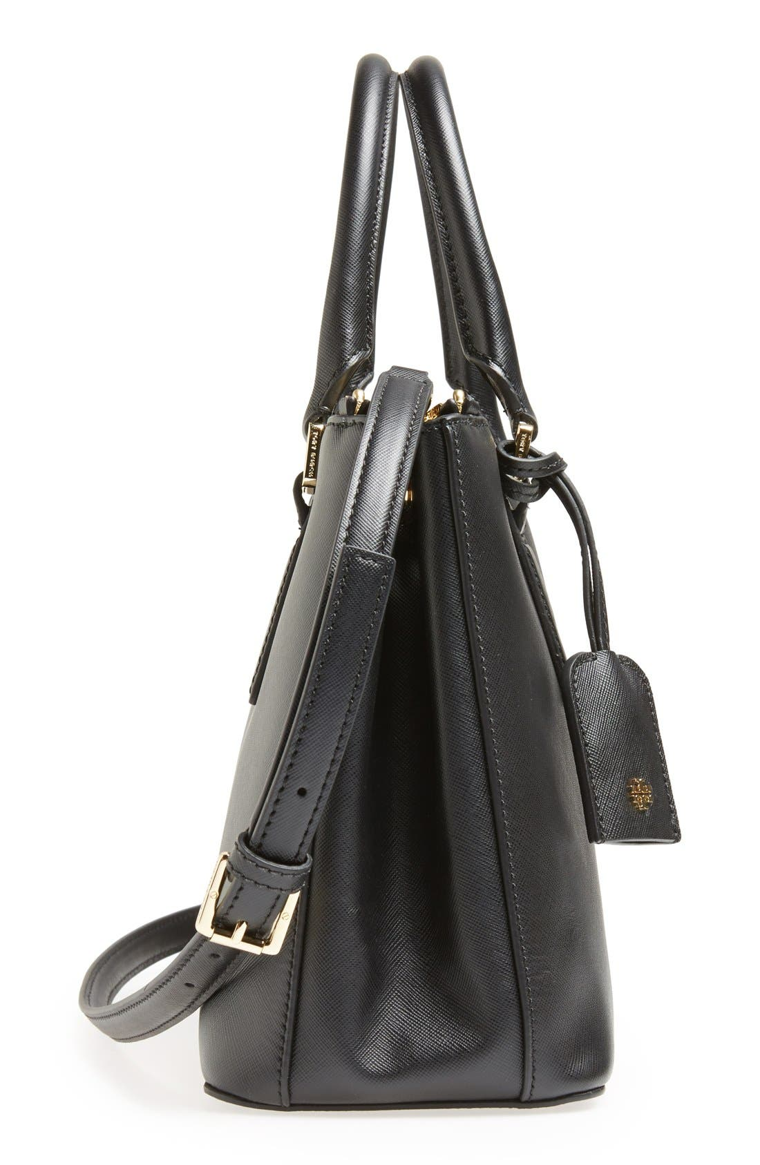 Alternate Image 4  - Tory Burch 'Robinson - Mini' Double Zip Tote