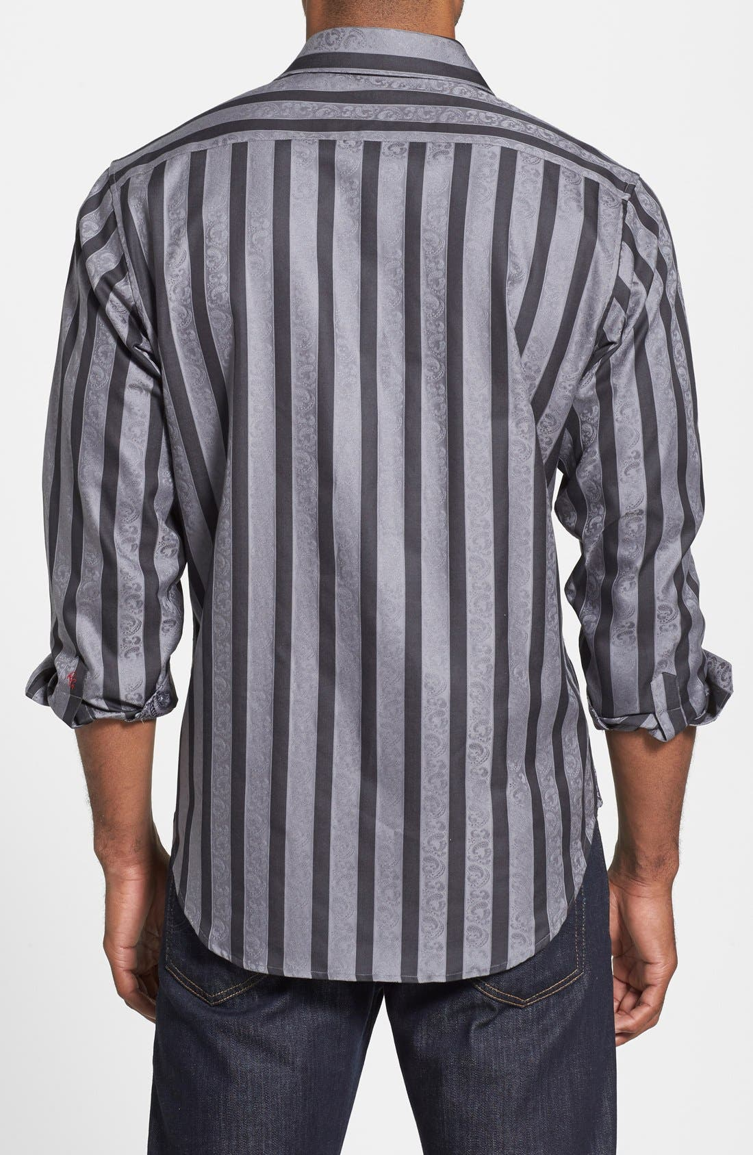 Alternate Image 2  - Robert Graham 'Shawn' Classic Fit Paisley Jacquard Sport Shirt