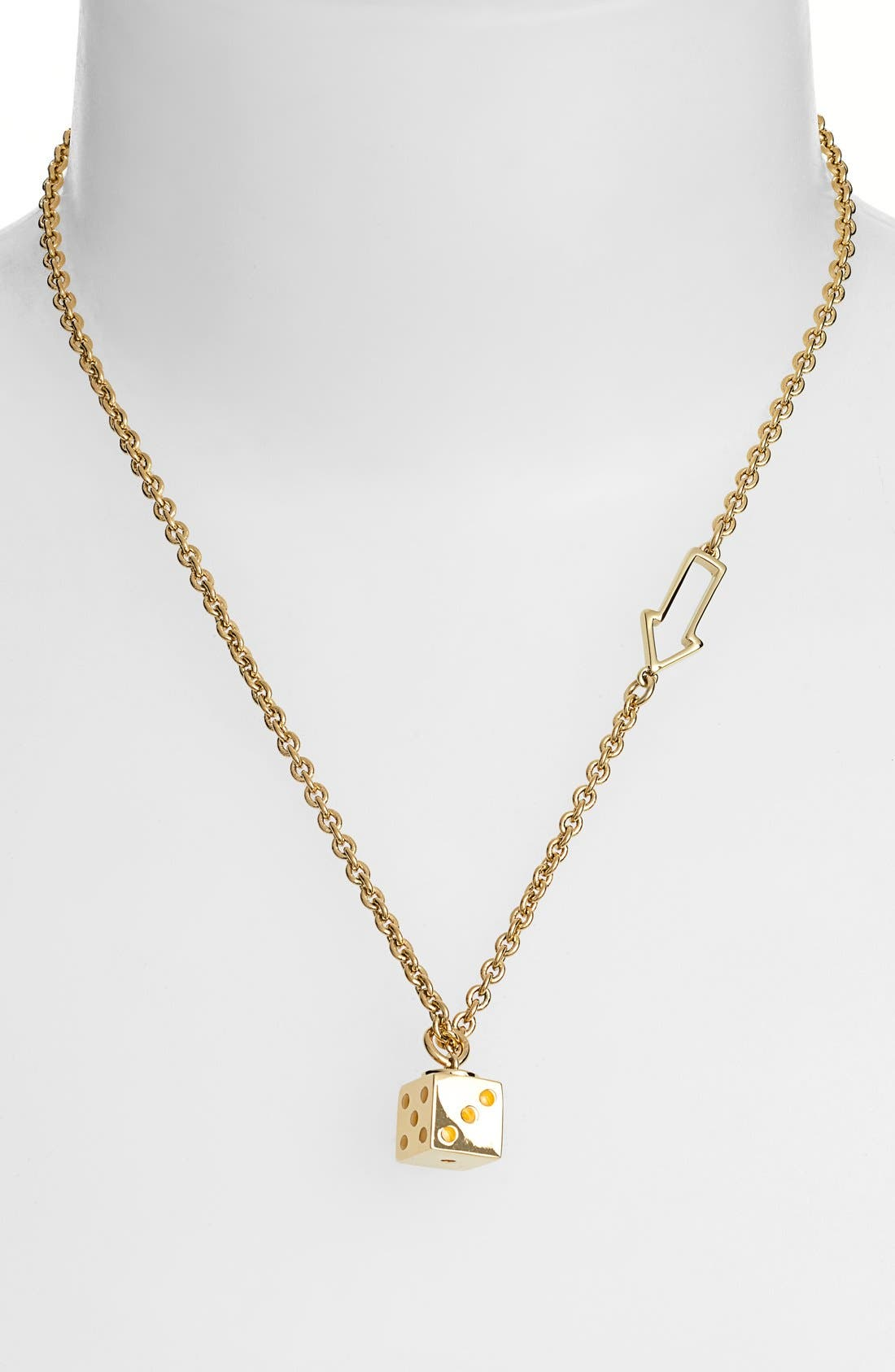 Alternate Image 1 Selected - MARC BY MARC JACOBS 'Dicey' Pendant Necklace