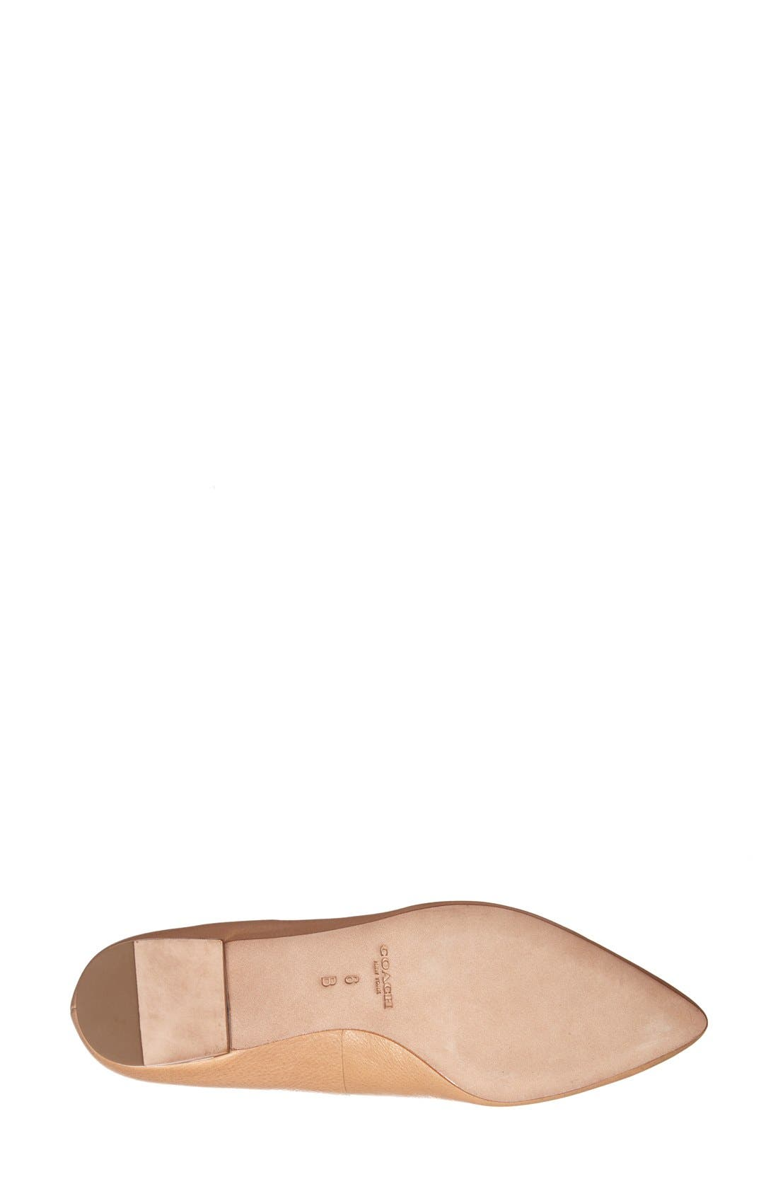 Alternate Image 4  - COACH 'Walsh' Leather Loafer (Women)