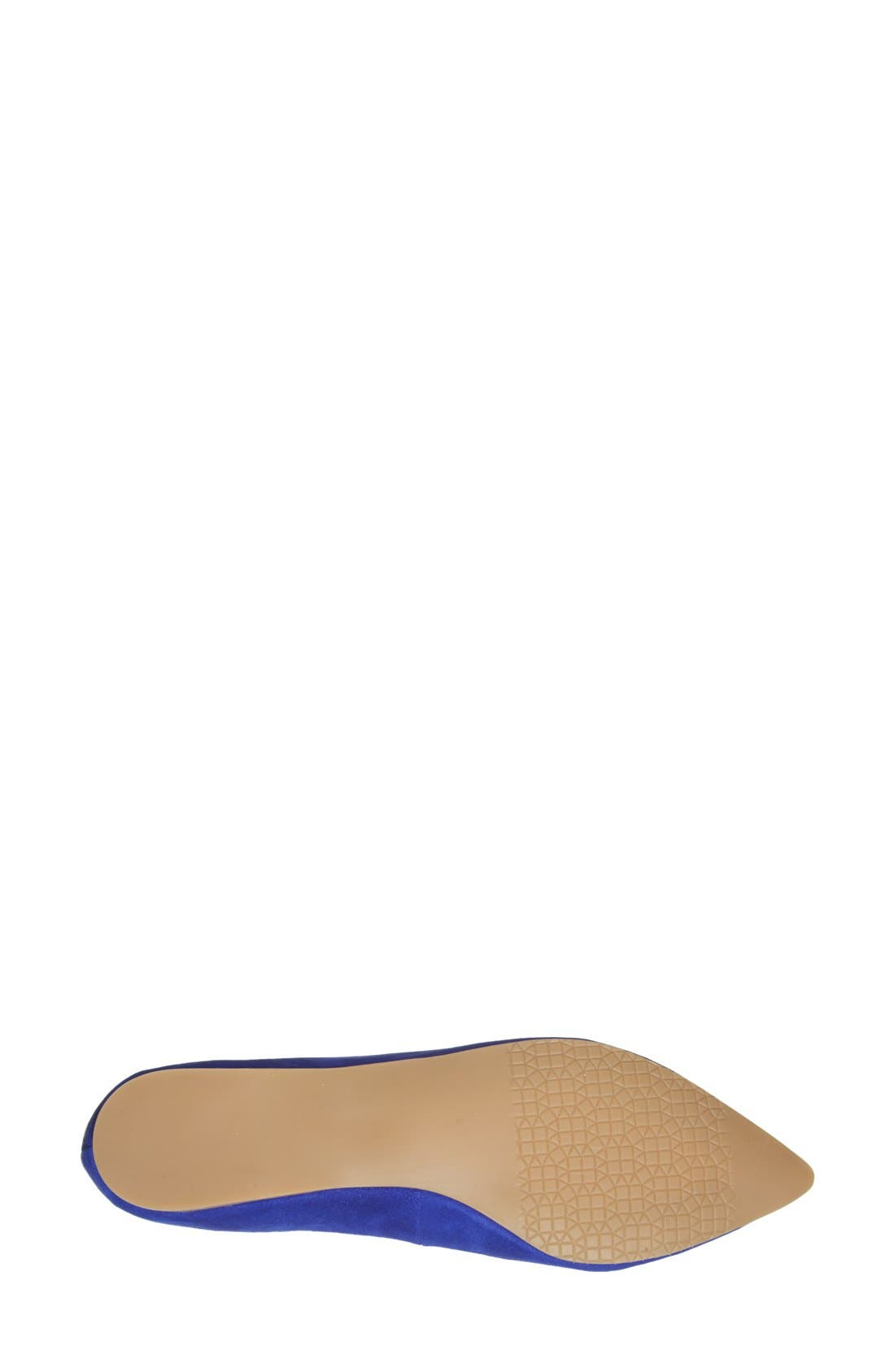 Alternate Image 4  - BP. 'Moveover' Pointy Toe Leather Flat (Women)