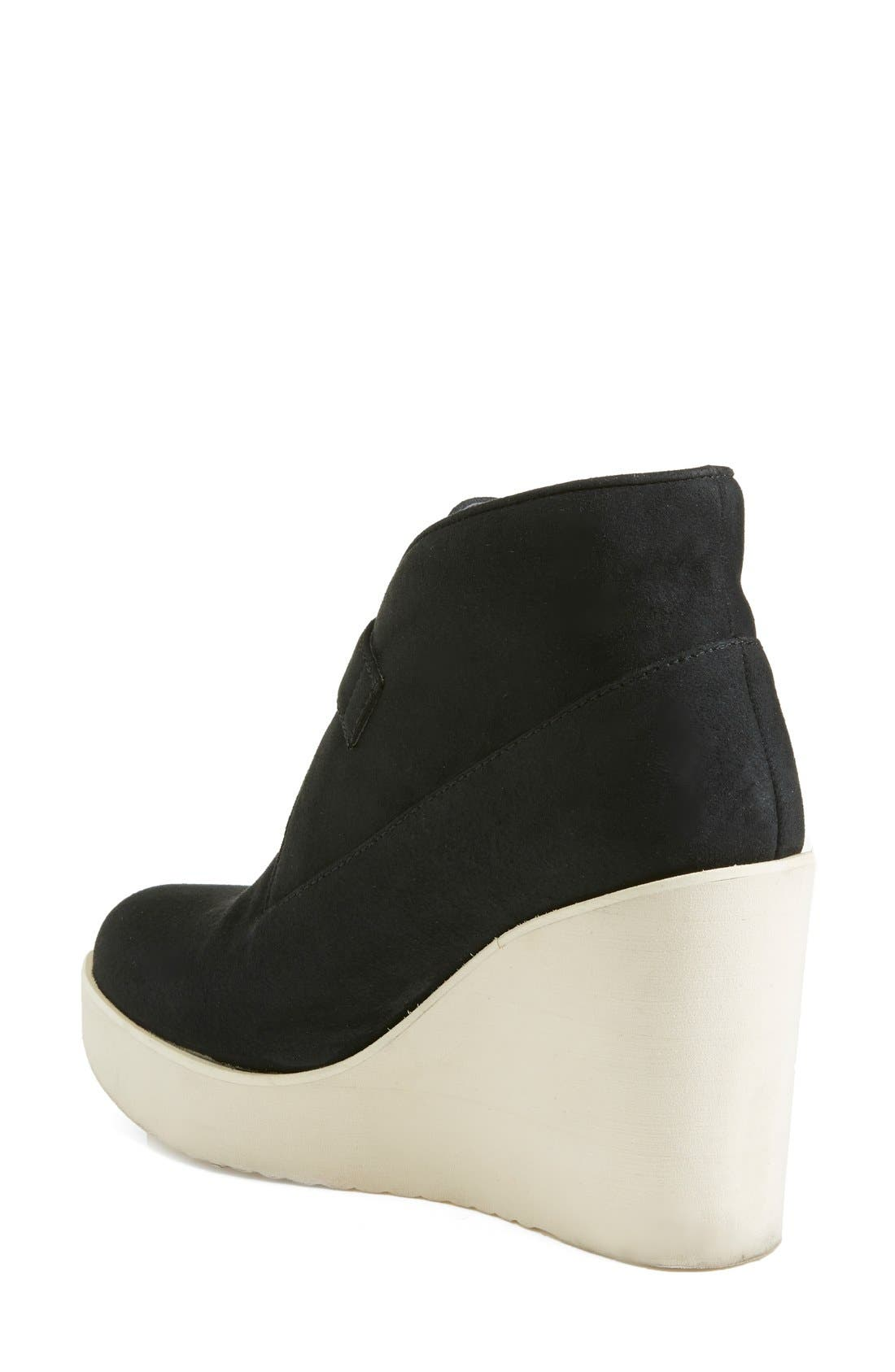 Alternate Image 2  - Stella McCartney Monk Strap Wedge Bootie (Women)
