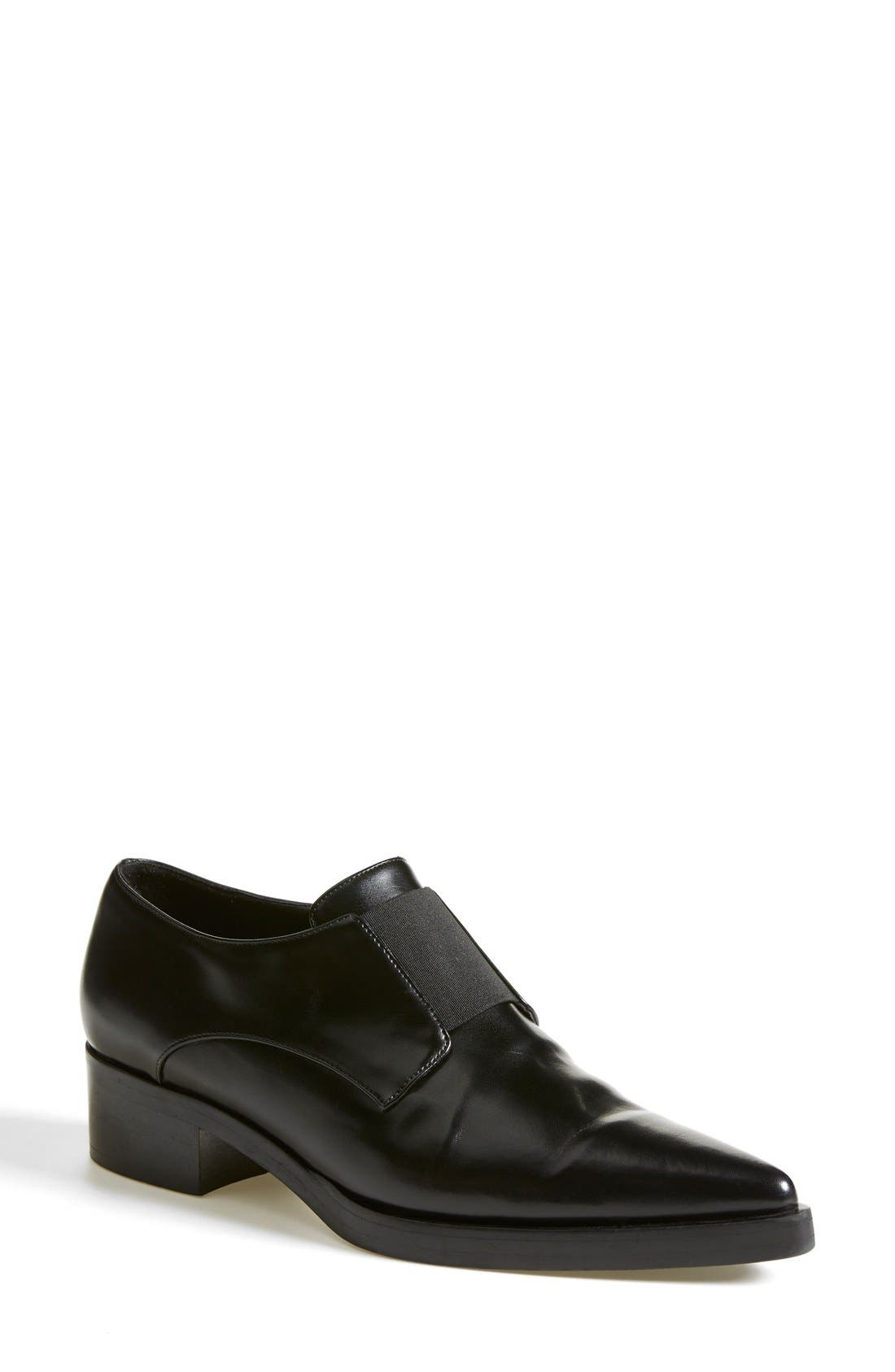 Alternate Image 1 Selected - Stella McCartney Pointy Toe Loafer Flat (Women)