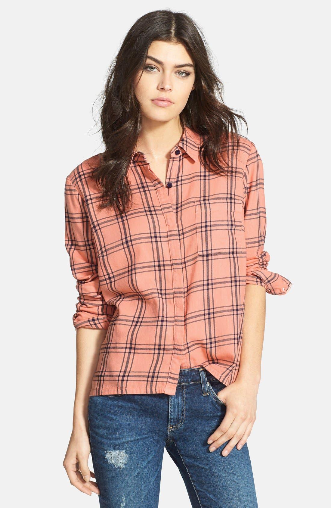 Alternate Image 1 Selected - Splendid 'Aston' Flannel Shirt