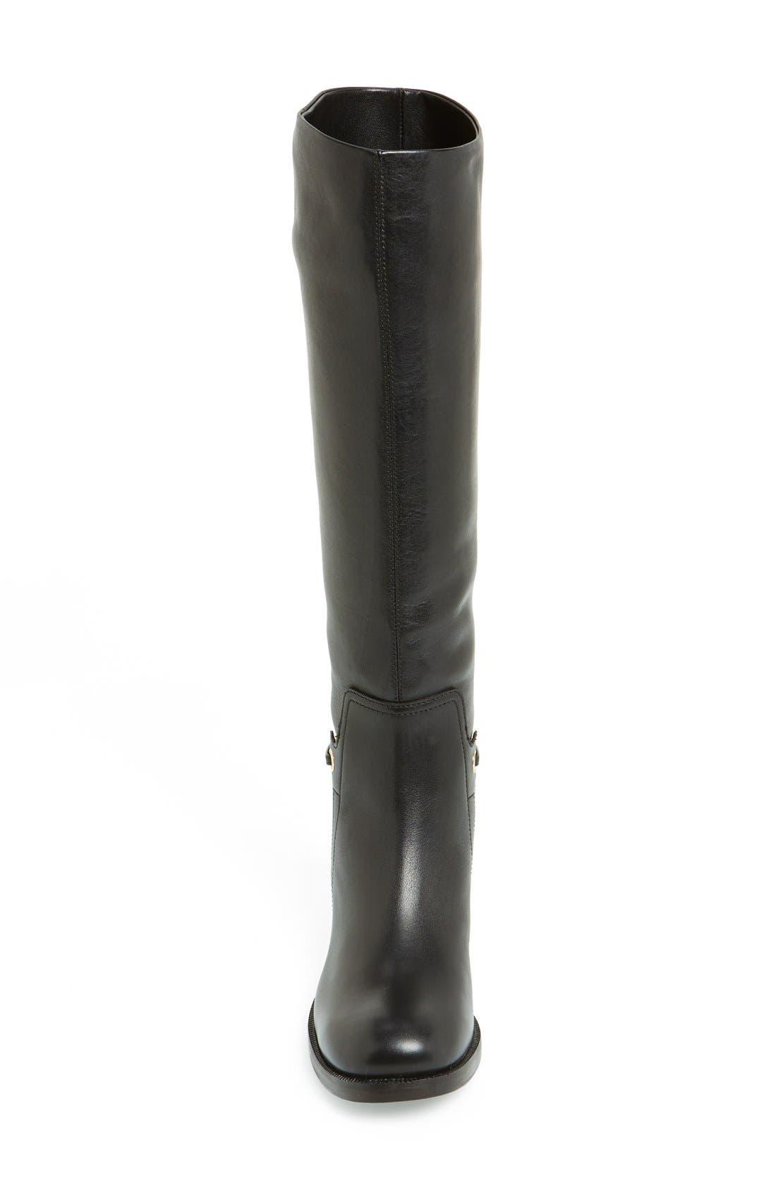 Alternate Image 3  - Salvatore Ferragamo 'Nando' Chain Trim Leather Boot (Women)