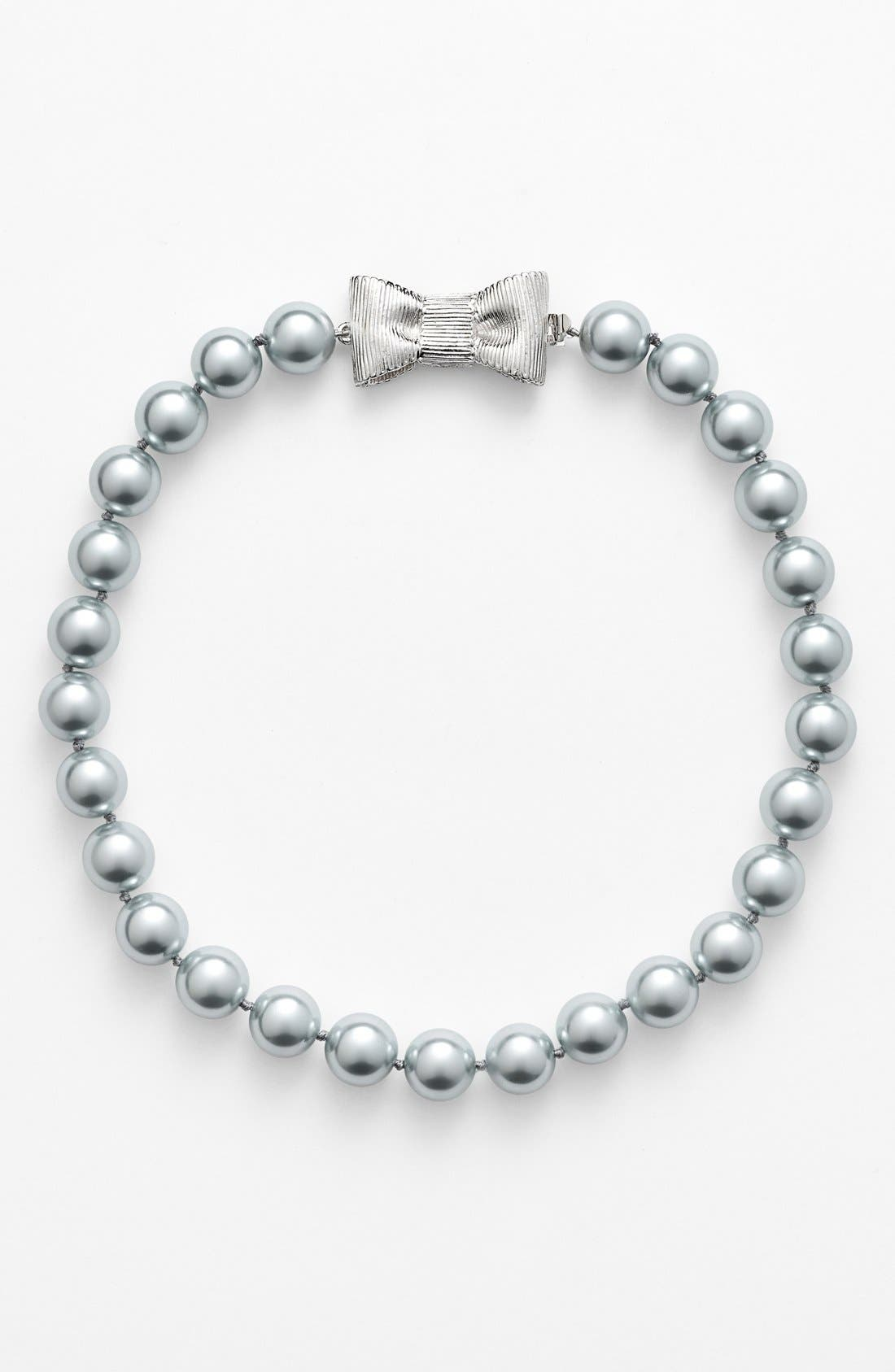 Alternate Image 2  - kate spade new york 'all wrapped up' faux pearl collar necklace
