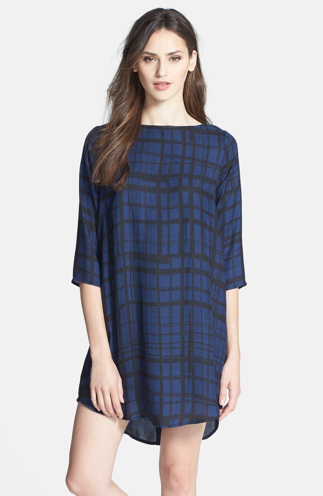Alternate Image 1 Selected - BB Dakota 'Musetta' Print Shift Dress
