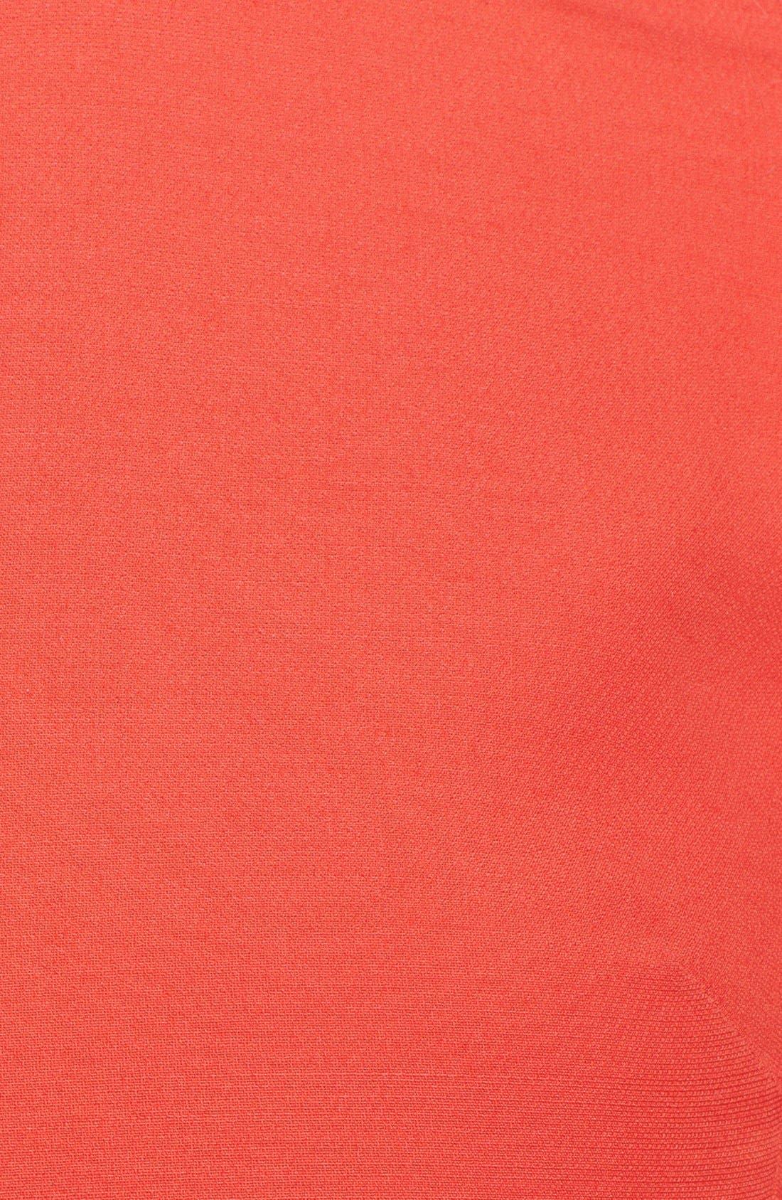 Alternate Image 4  - Valentino Embellished Leather Collar Minidress