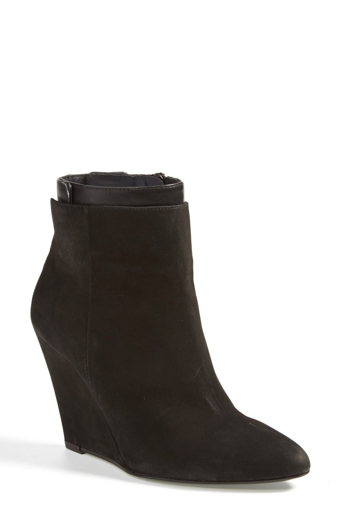 Alternate Image 1 Selected - Vince 'Ludlow' Leather Wedge Bootie (Women)