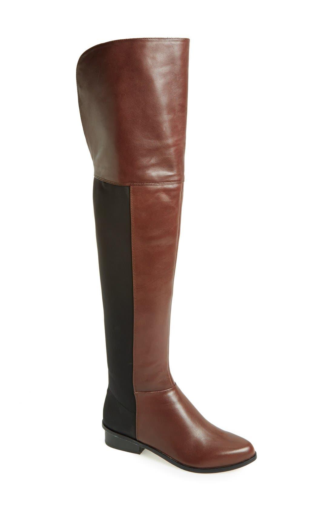 Alternate Image 1 Selected - BCBGMAXAZRIA 'Slink' Over the Knee Boot (Women)