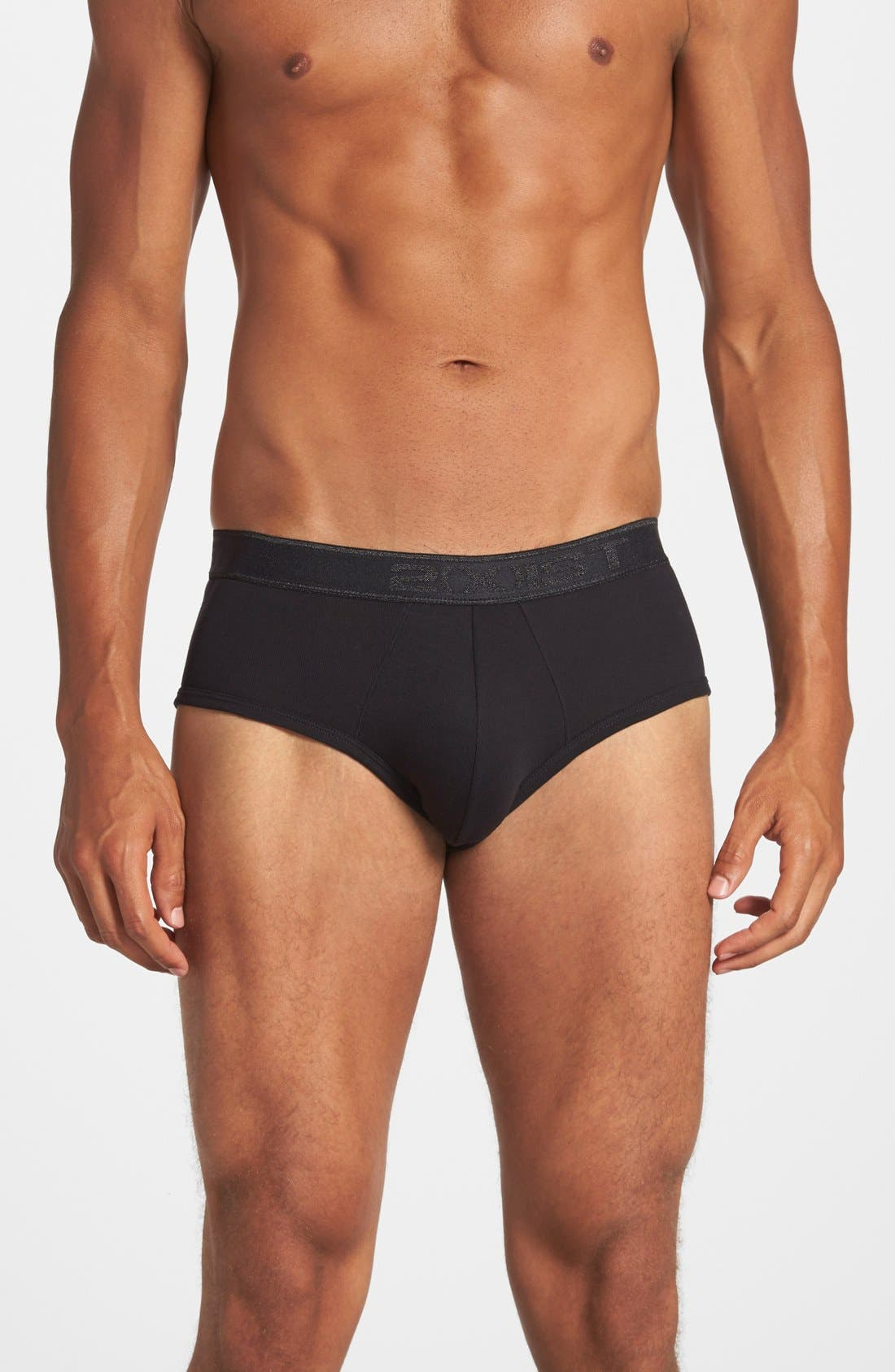 2(x)ist Pima Cotton Contour Pouch Briefs