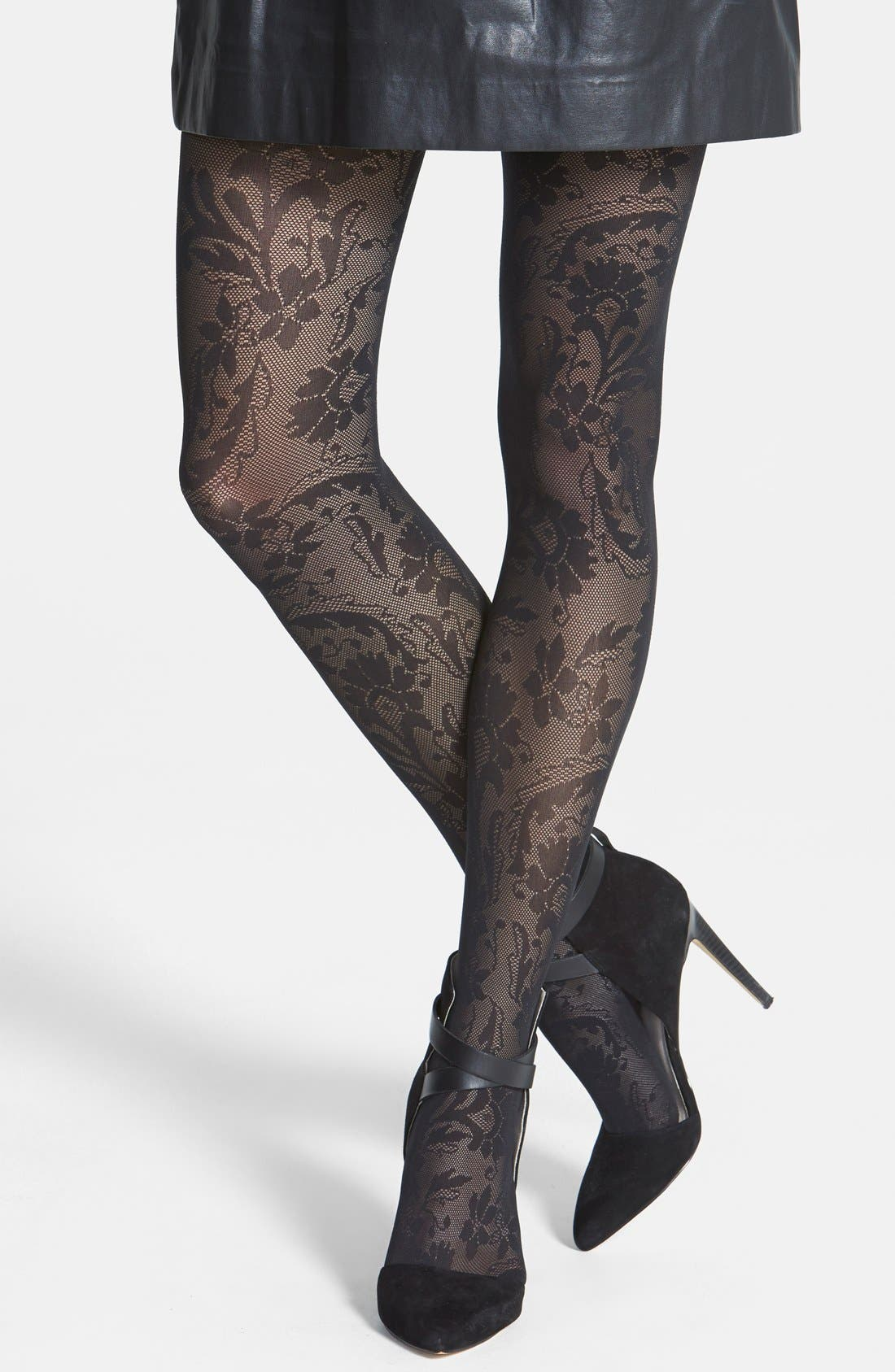 Main Image - Wolford 'Loureen' Tights