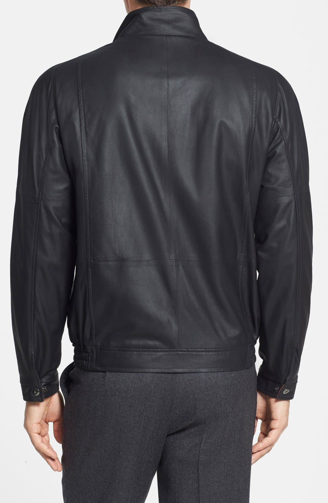 Alternate Image 2  - Remy Leather 'Lite' Lambskin Leather Jacket