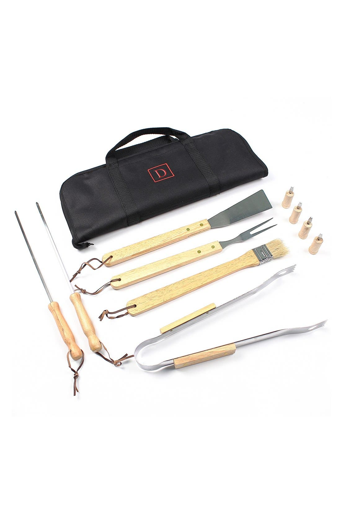 Main Image - Cathy's Concepts Monogram BBQ Grill Tools (Set of 11)