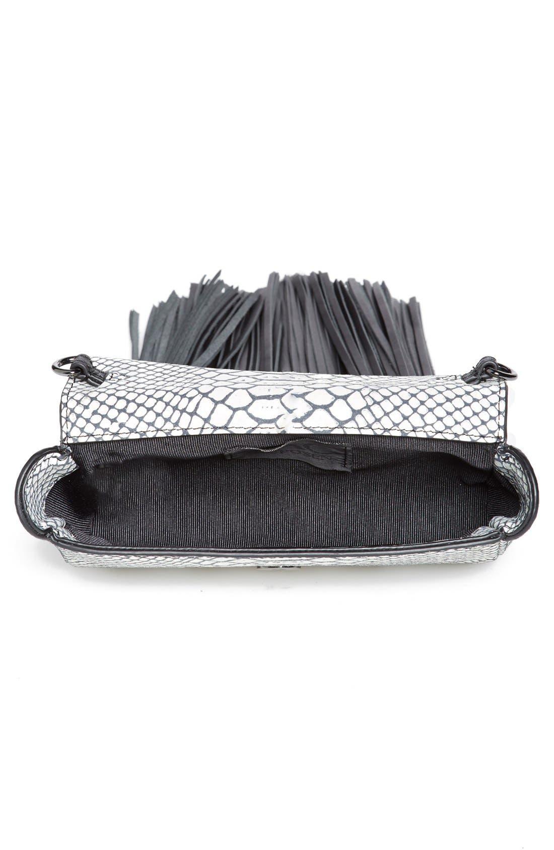 Alternate Image 3  - ZAC Zac Posen 'Claudette' Multi Tassel Flap Clutch