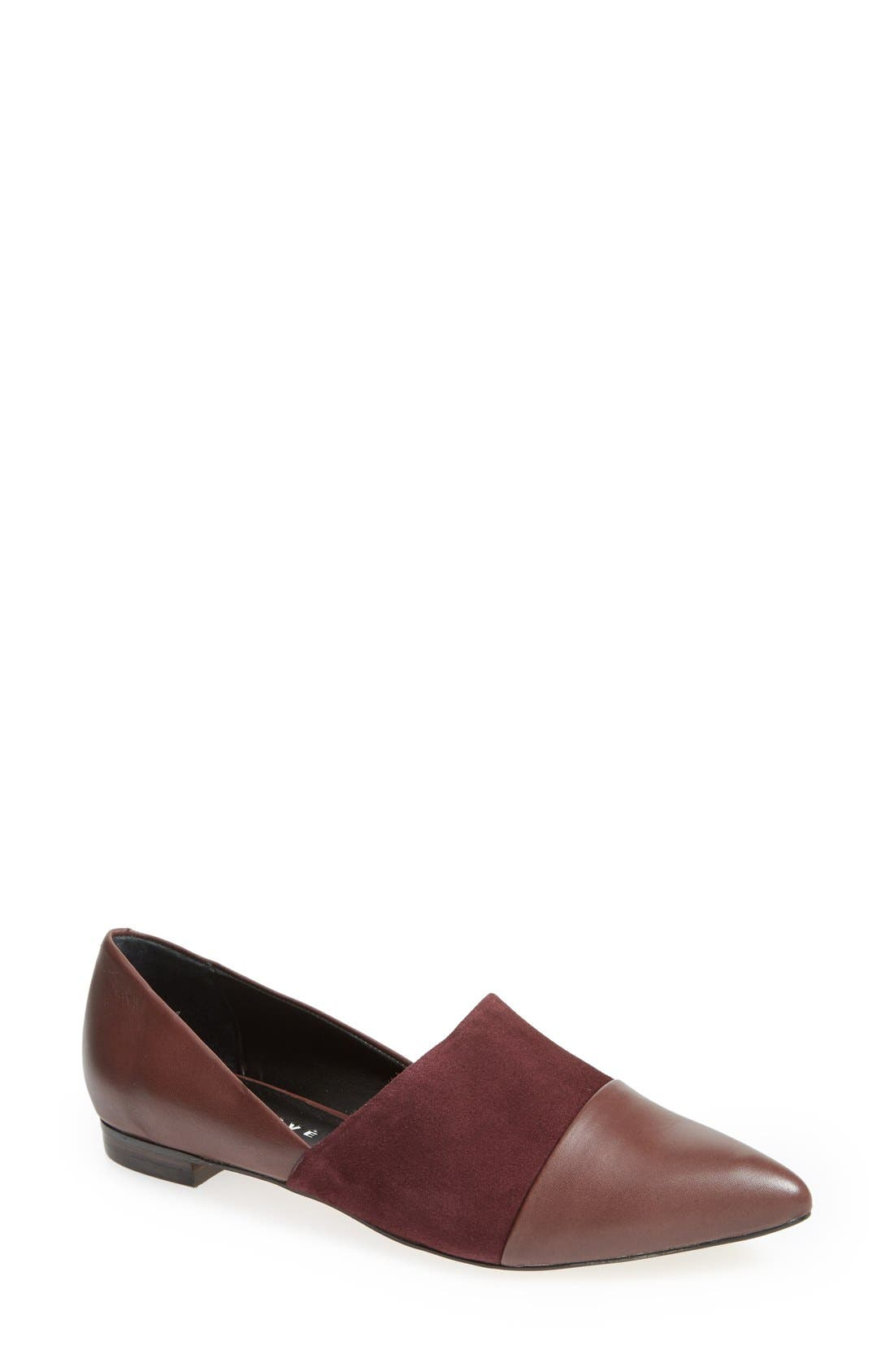 Alternate Image 1 Selected - Trouvé 'Beal' Pointy Toe Flat (Women)