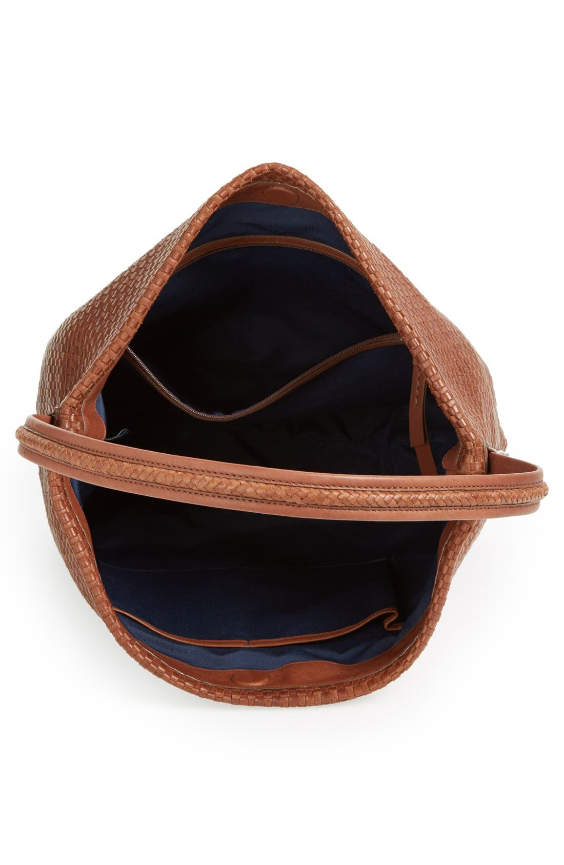 Alternate Image 3  - Cole Haan 'Bethany - Large' Woven Leather Hobo