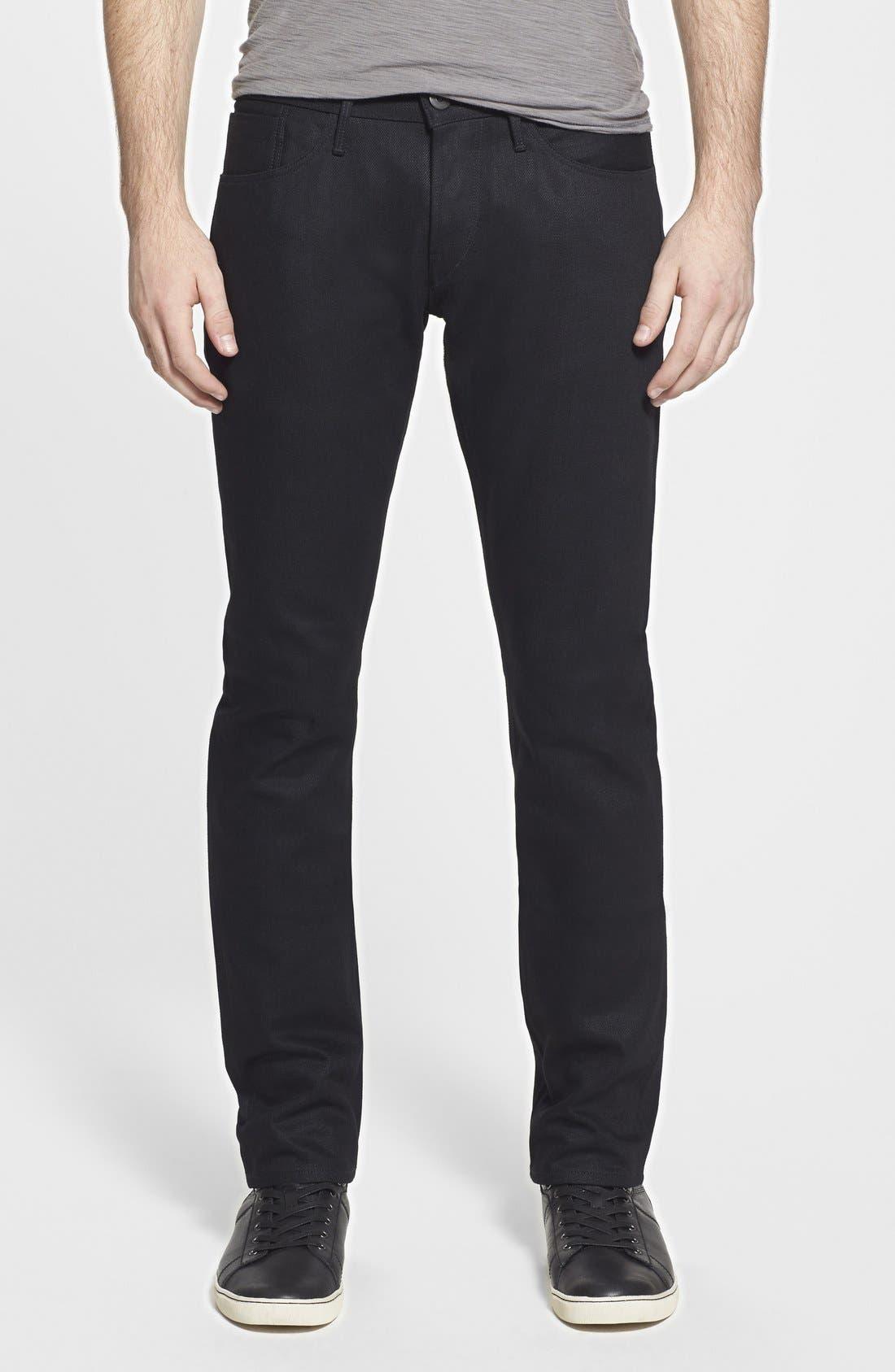 3x1 NYC 'M5' Skinny Fit Selvedge Jeans (XX Raw)