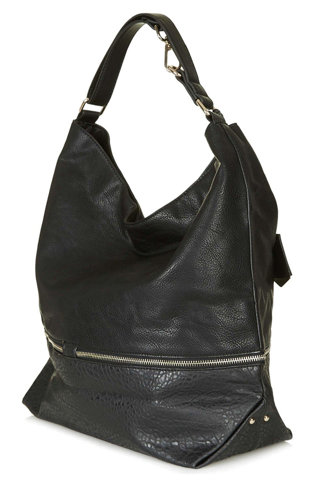 Alternate Image 4  - Topshop Slouchy Hobo Bag