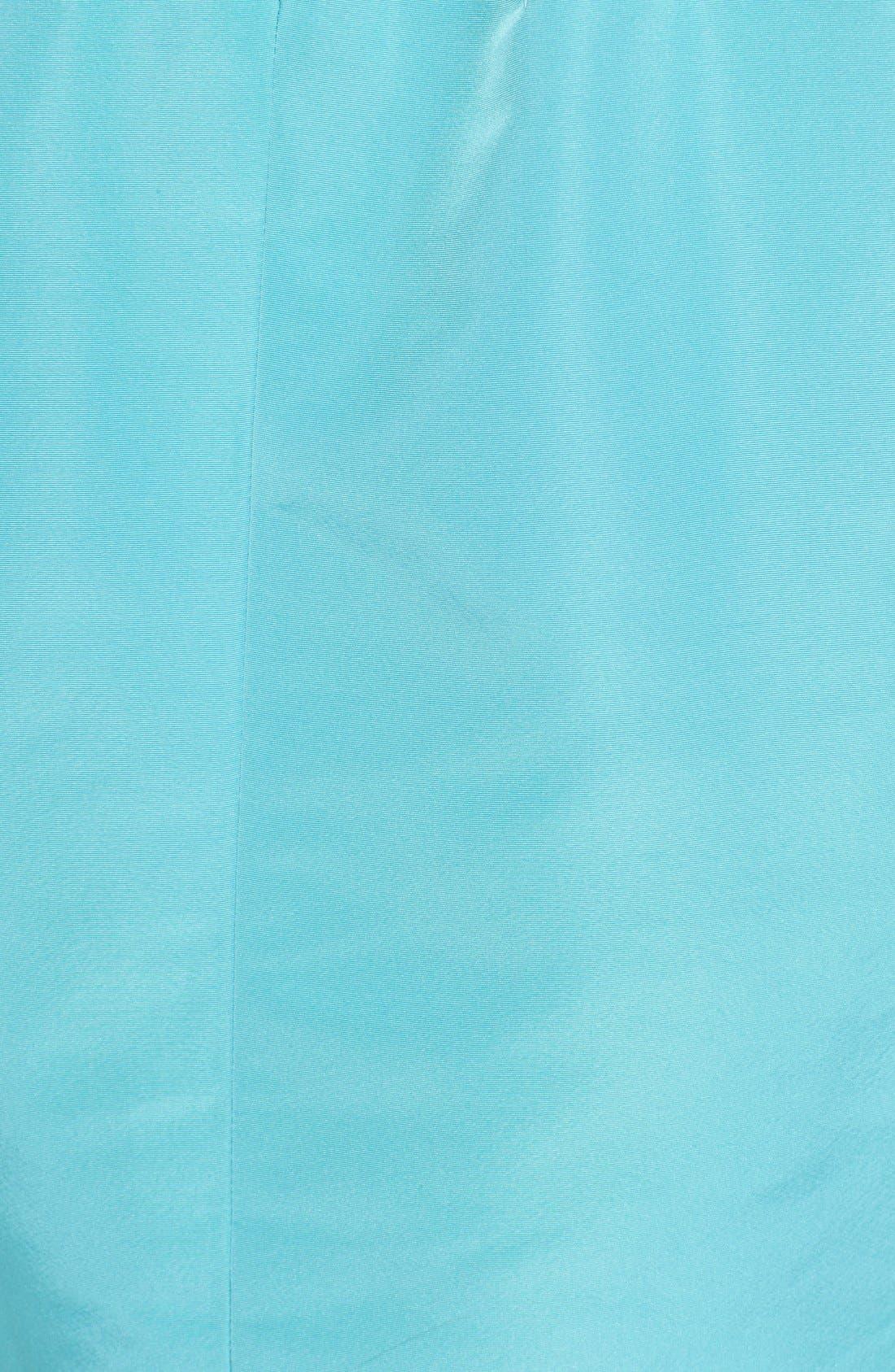 Alternate Image 3  - Oscar de la Renta Silk Fit & Flare Dress