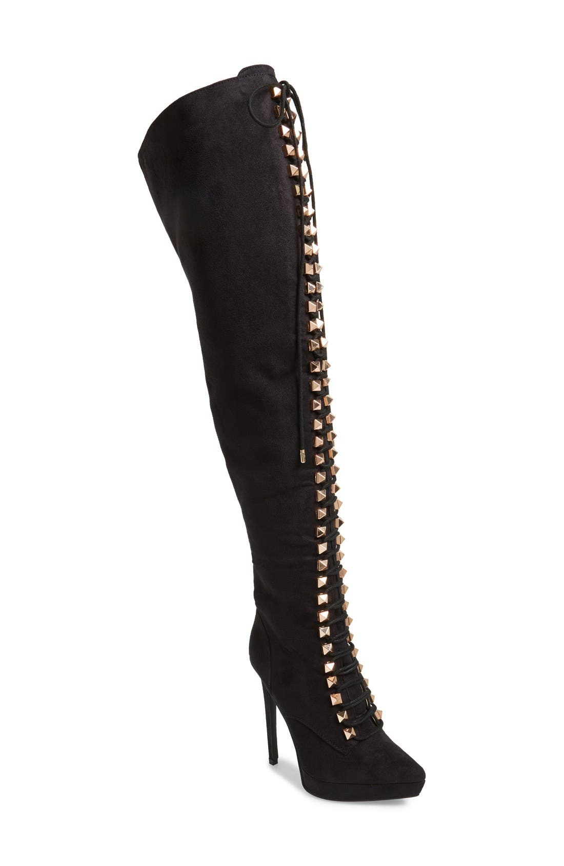 Main Image - ZiGi girl 'Payce' Over The Knee Boot (Women)