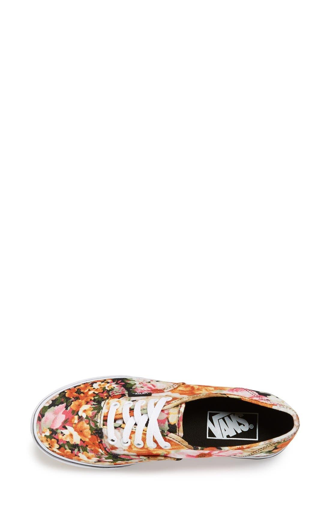 Alternate Image 3  - Vans 'Authentic Lo Pro - Floral' Sneaker (Women)