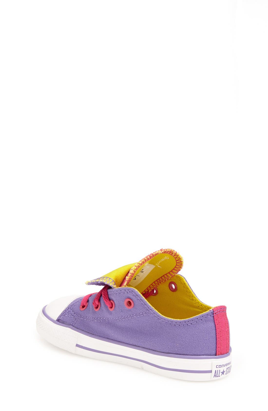 Alternate Image 2  - Converse Chuck Taylor® All Star® Double Tongue Sneaker (Baby, Walker & Toddler)