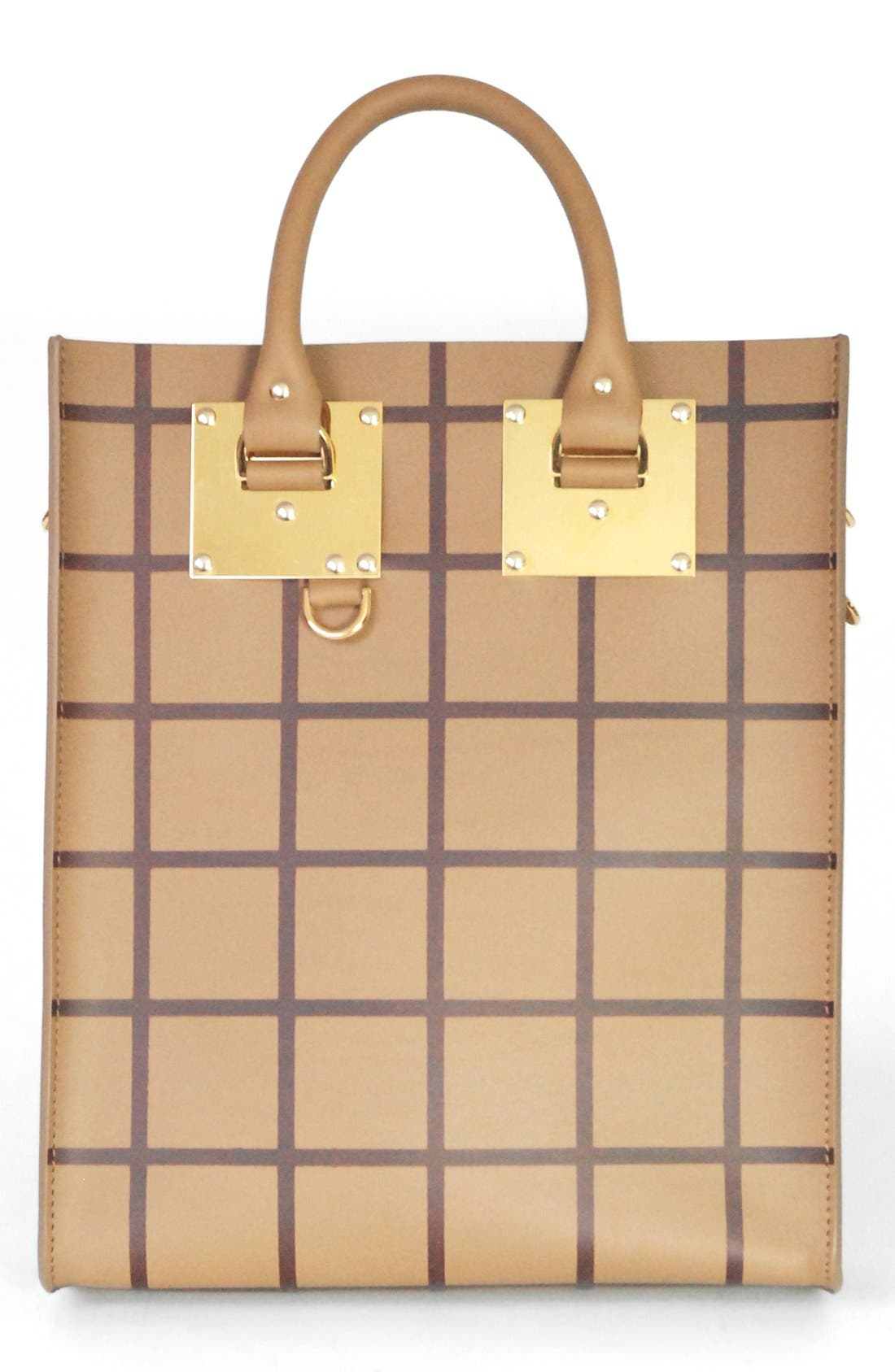 Alternate Image 1 Selected - Sophie Hulme Colorblock Leather Tote