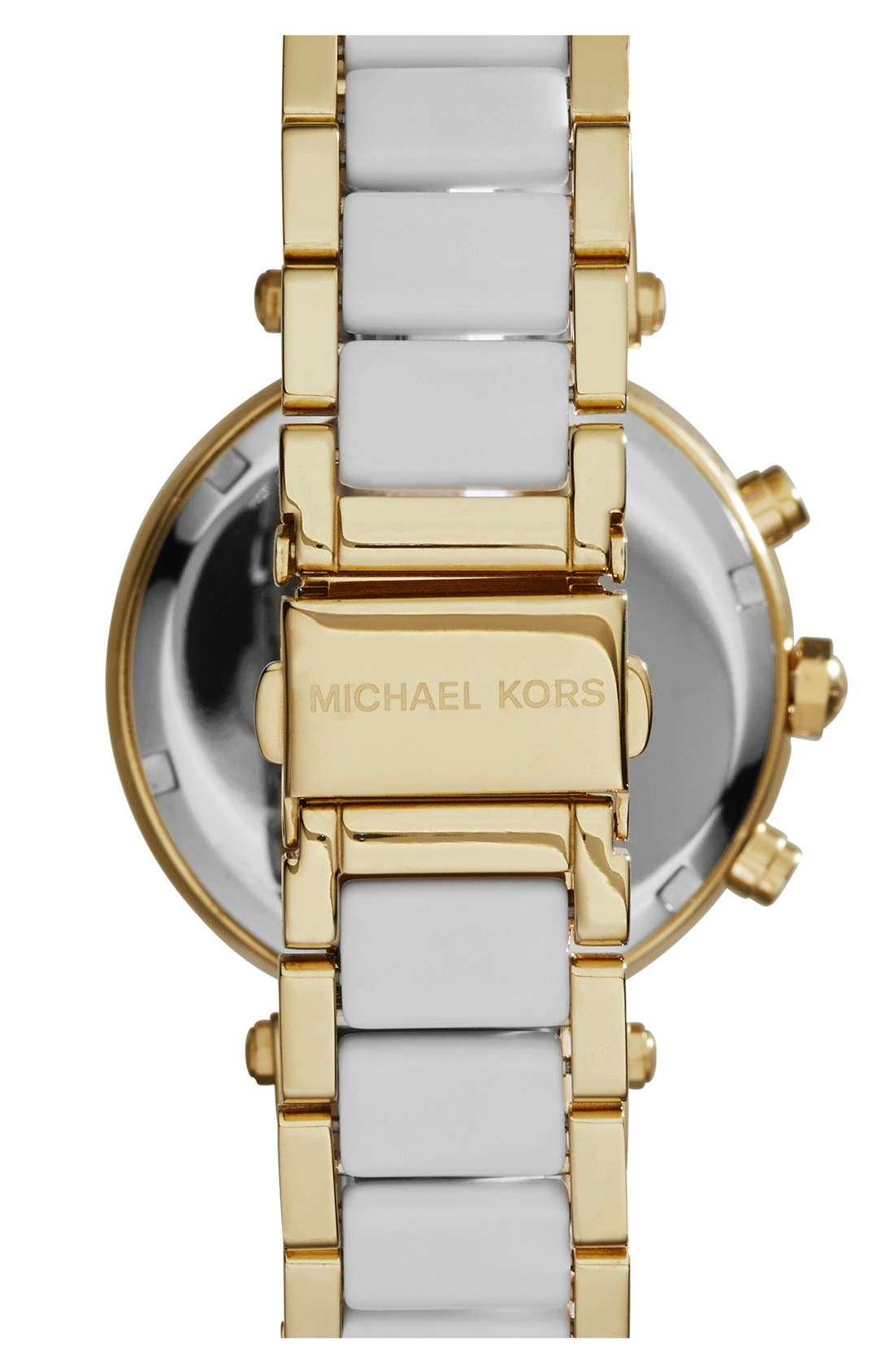 Alternate Image 2  - Michael Kors 'Parker' Chronograph Watch, 39mm