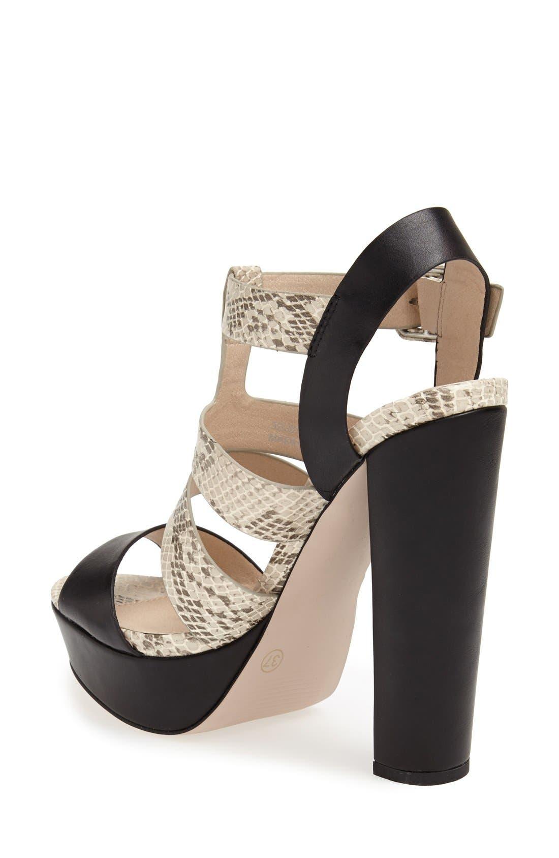 Alternate Image 2  - Topshop 'Lucy' Gladiator Sandal (Women)