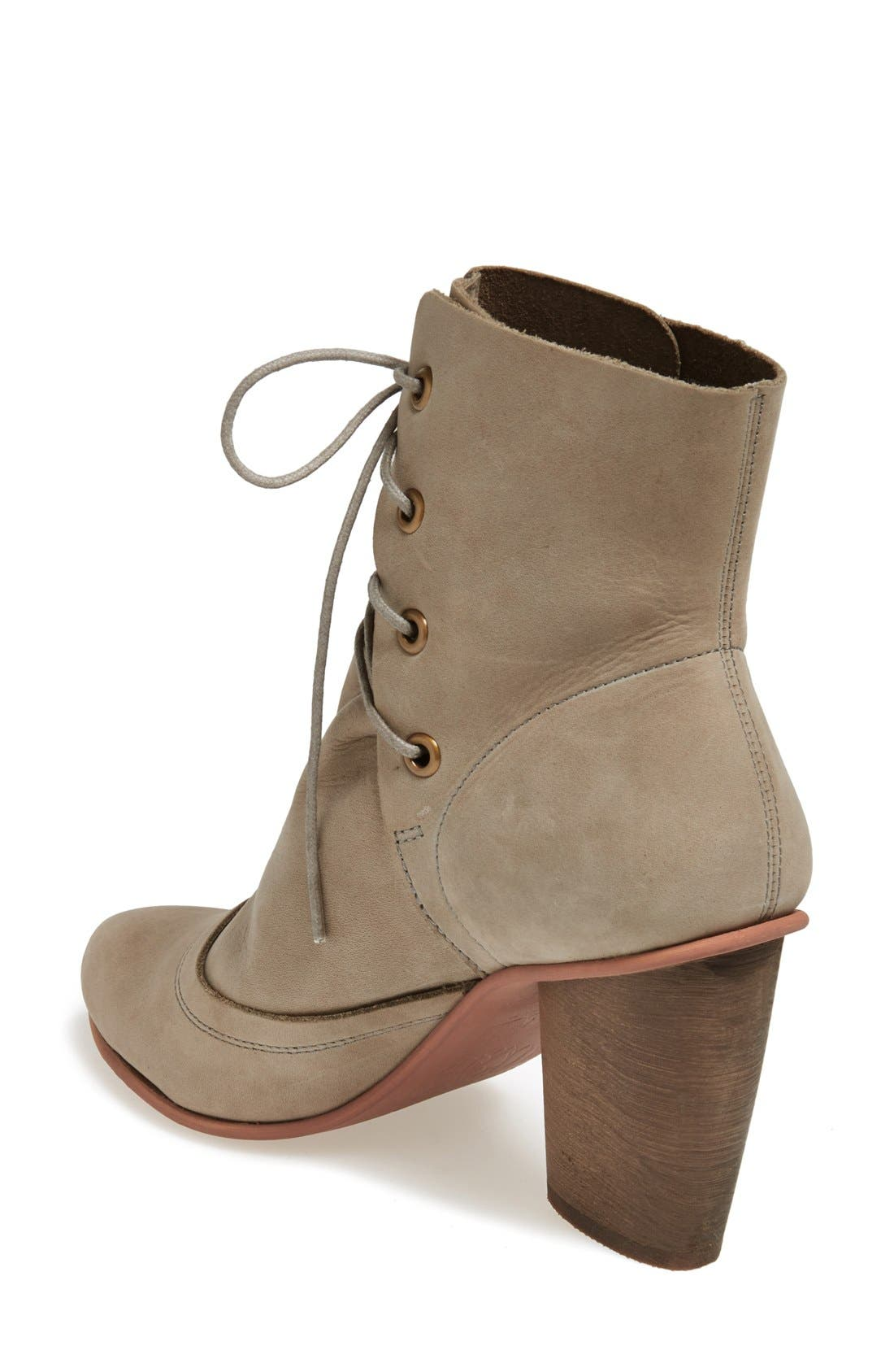 Alternate Image 2  - J SHOES 'Sadie' Leather Bootie (Women)